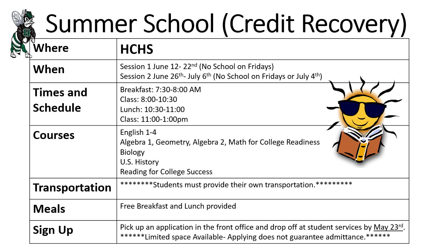 Summer School – Haines City High School in Haines City High School Bell Schedule