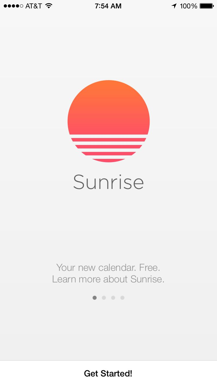 Sunrise Onboarding | Calendar App, Ios Icon, Sunrise Calendar intended for Apple Calendar App Icon
