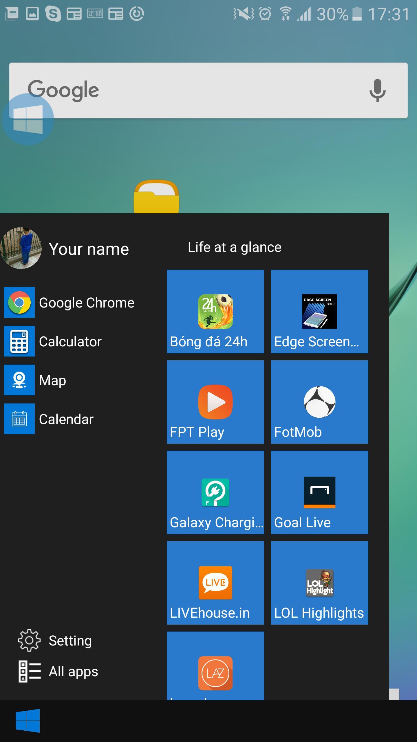 Taskbar Smart Style Windows 10 Для Андроид  Скачать Apk for Add Google Calendar To Taskbar Windows 10