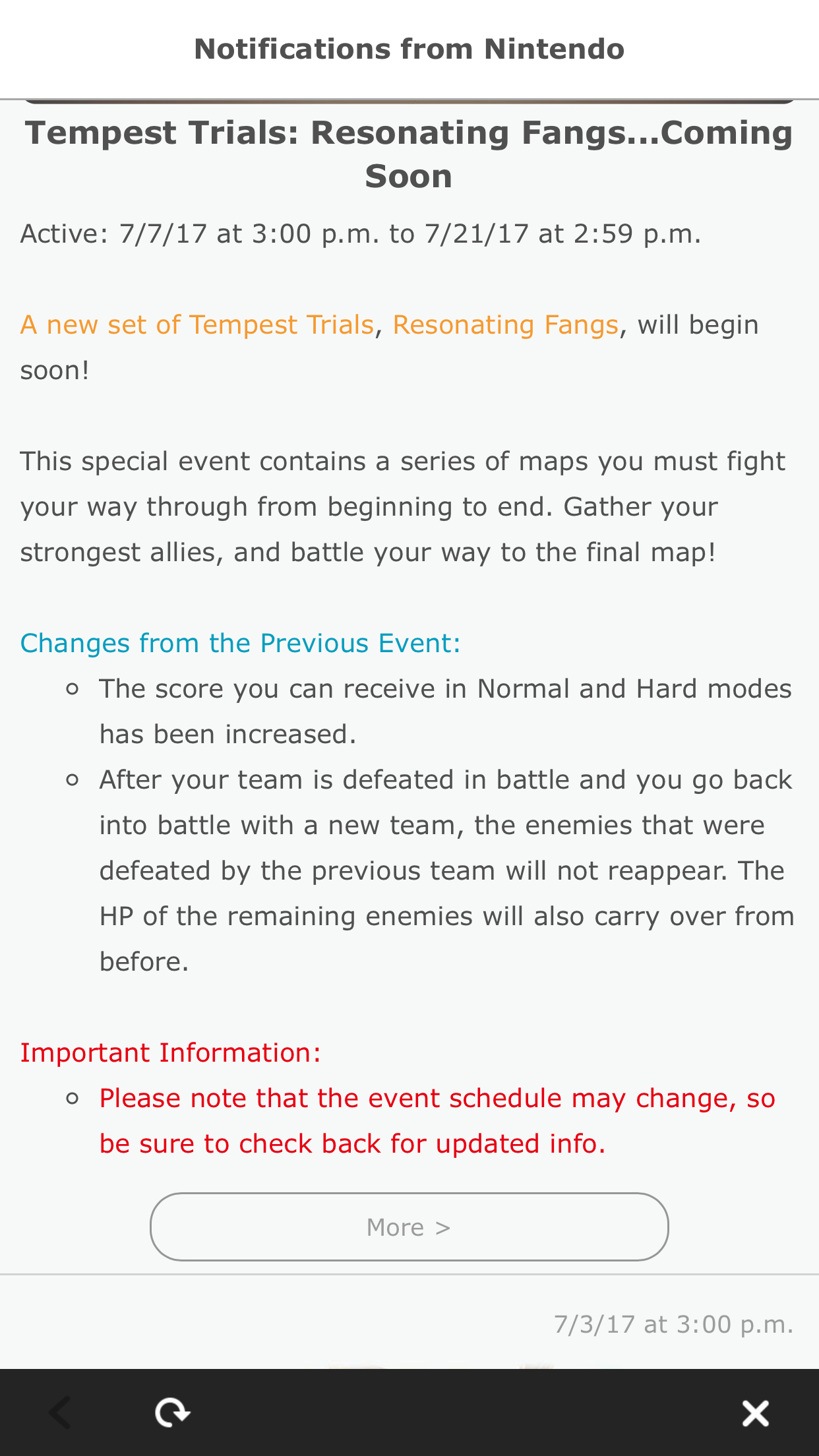 Tempest Trials: Resonating Fangs : Fireemblemheroes intended for Iphone Calendar Deleted Events Reappear