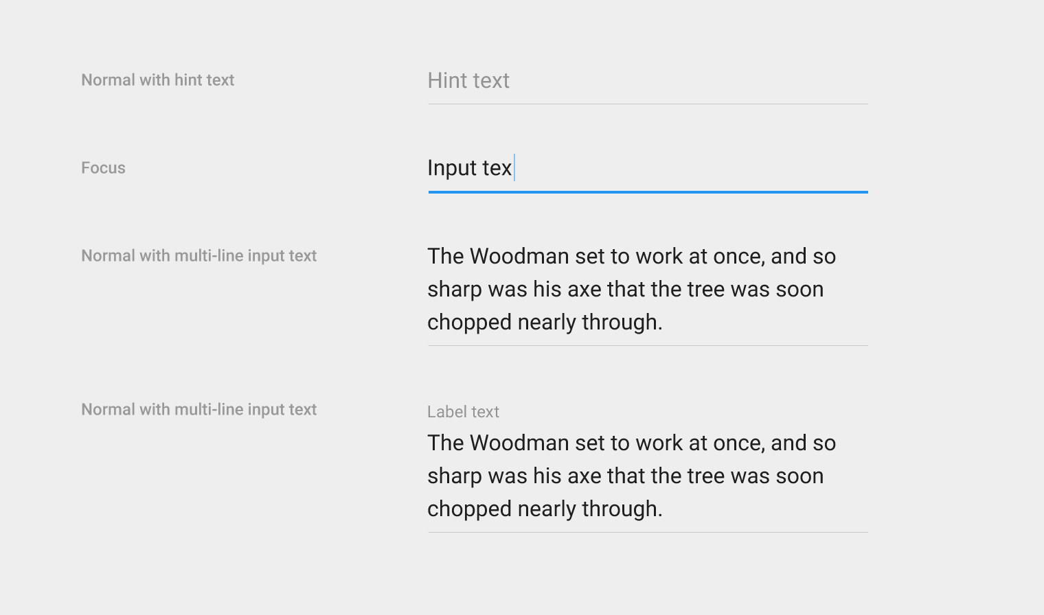 Text Fields  Components  Material Design Guidelines in Text Fields Material