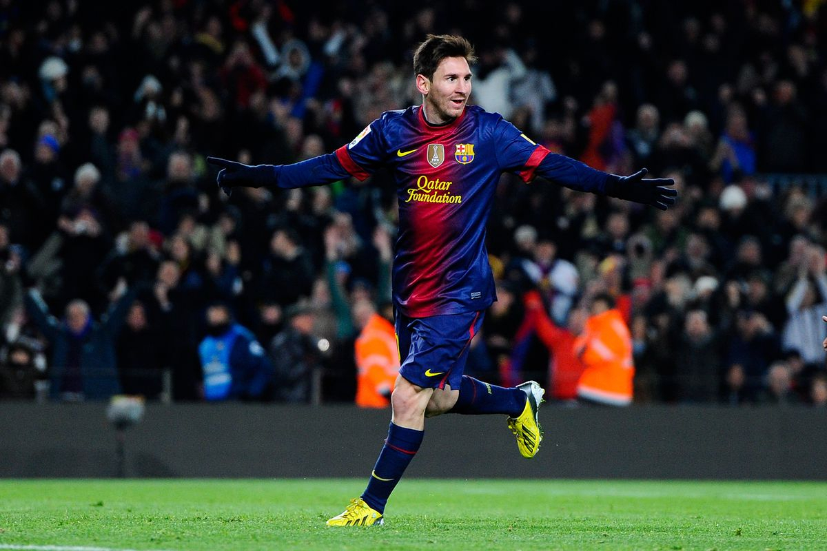 The 91 Goals Of Leo Messi  Barca Blaugranes inside Messi Calendar Year Goals