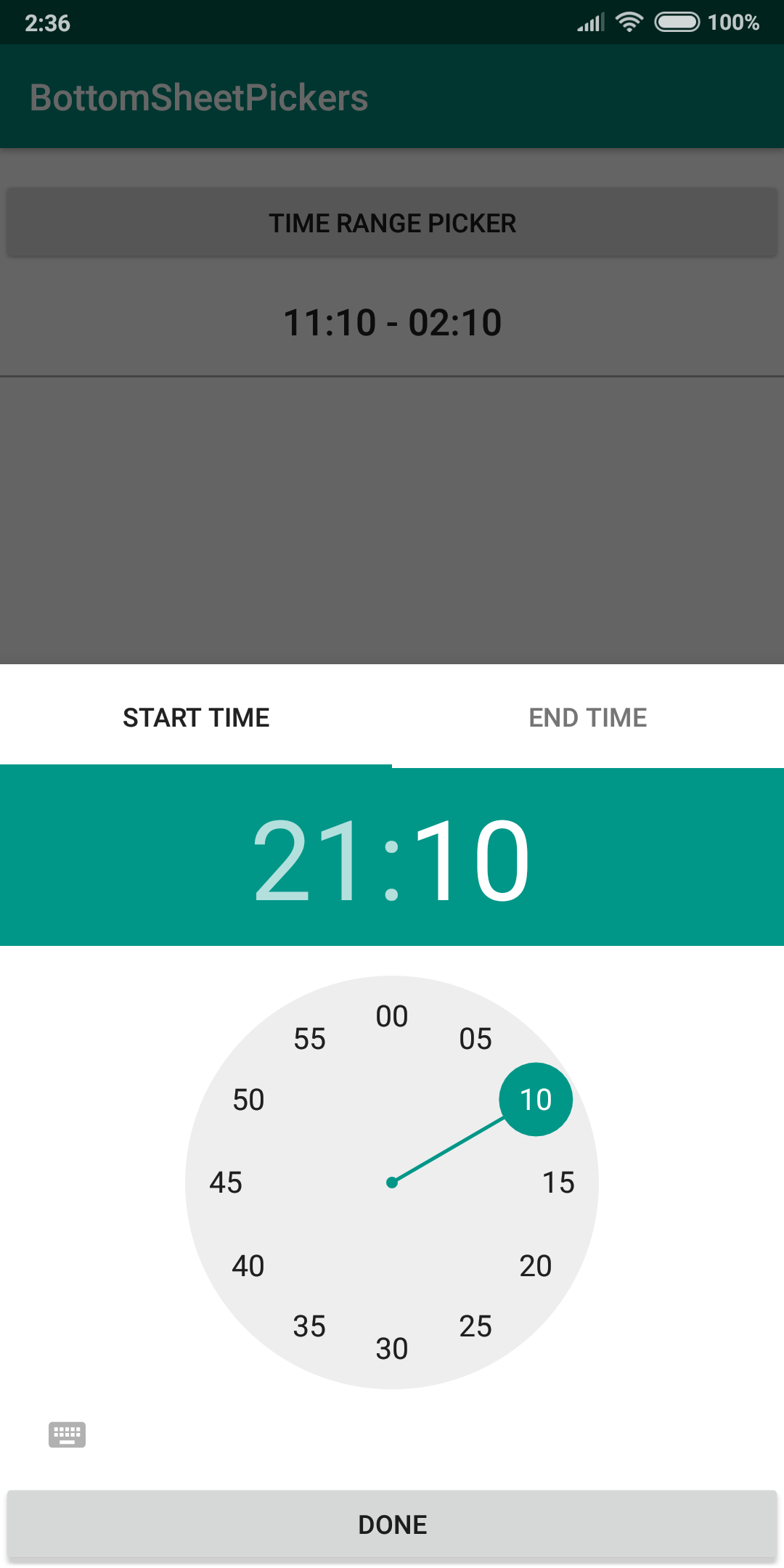 The Android Arsenal  Date & Time Pickers  A Categorized throughout Android Arsenal Calendar