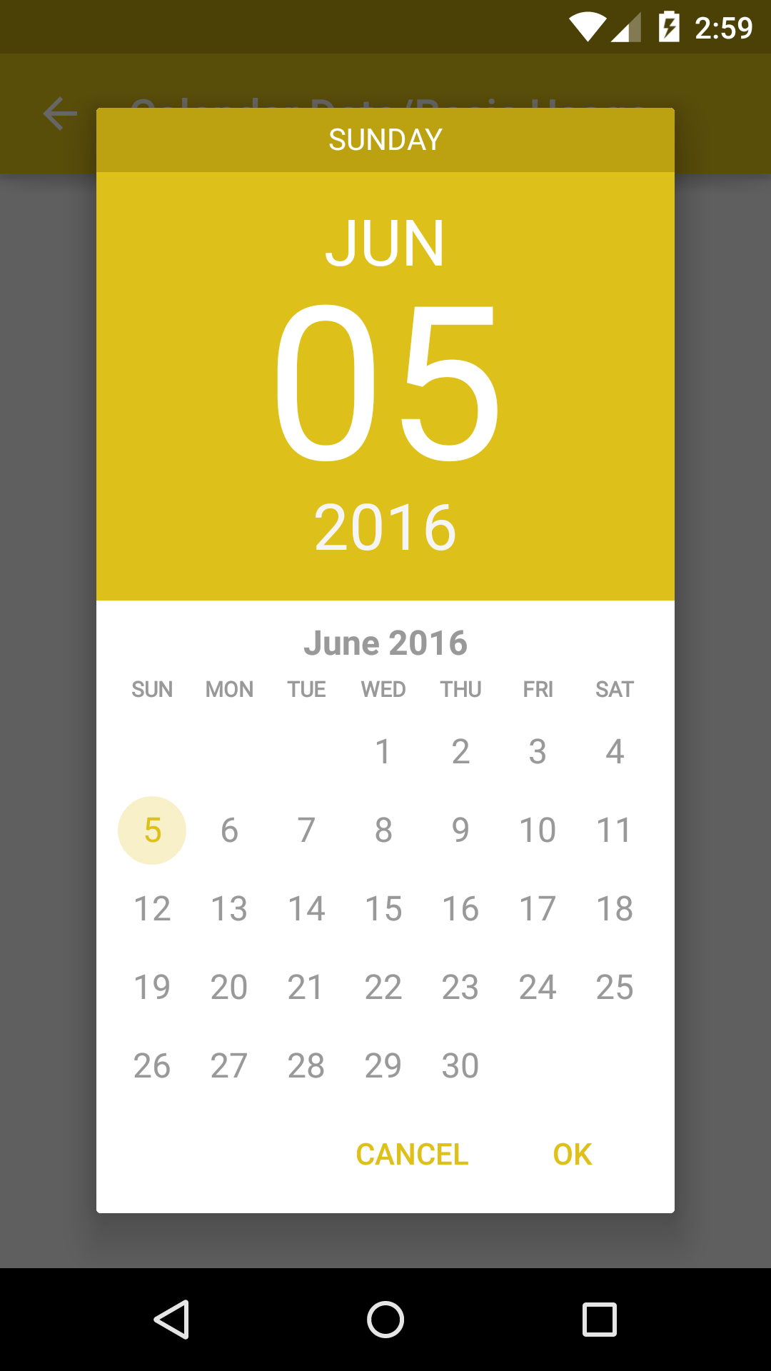 The Android Arsenal  Date & Time Pickers  Android throughout Android Arsenal Calendar