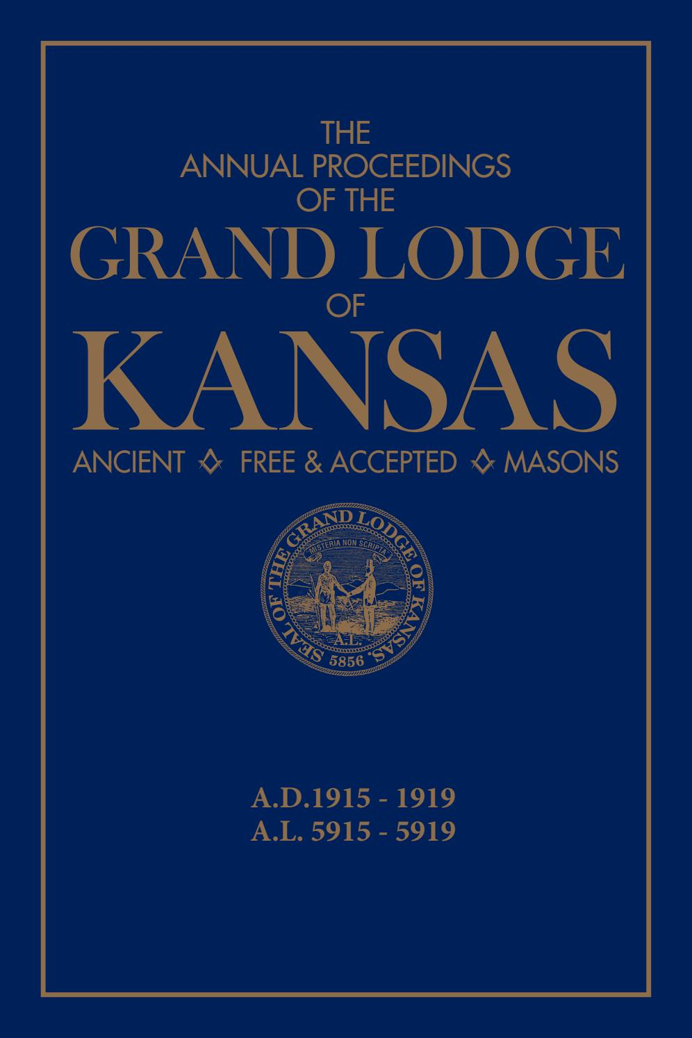 The Annual Proceedings Of The Grand Lodge Of Kansas Af&am for Billy Graham Wisdom For Each Day 365 Day Perpetual Calendar