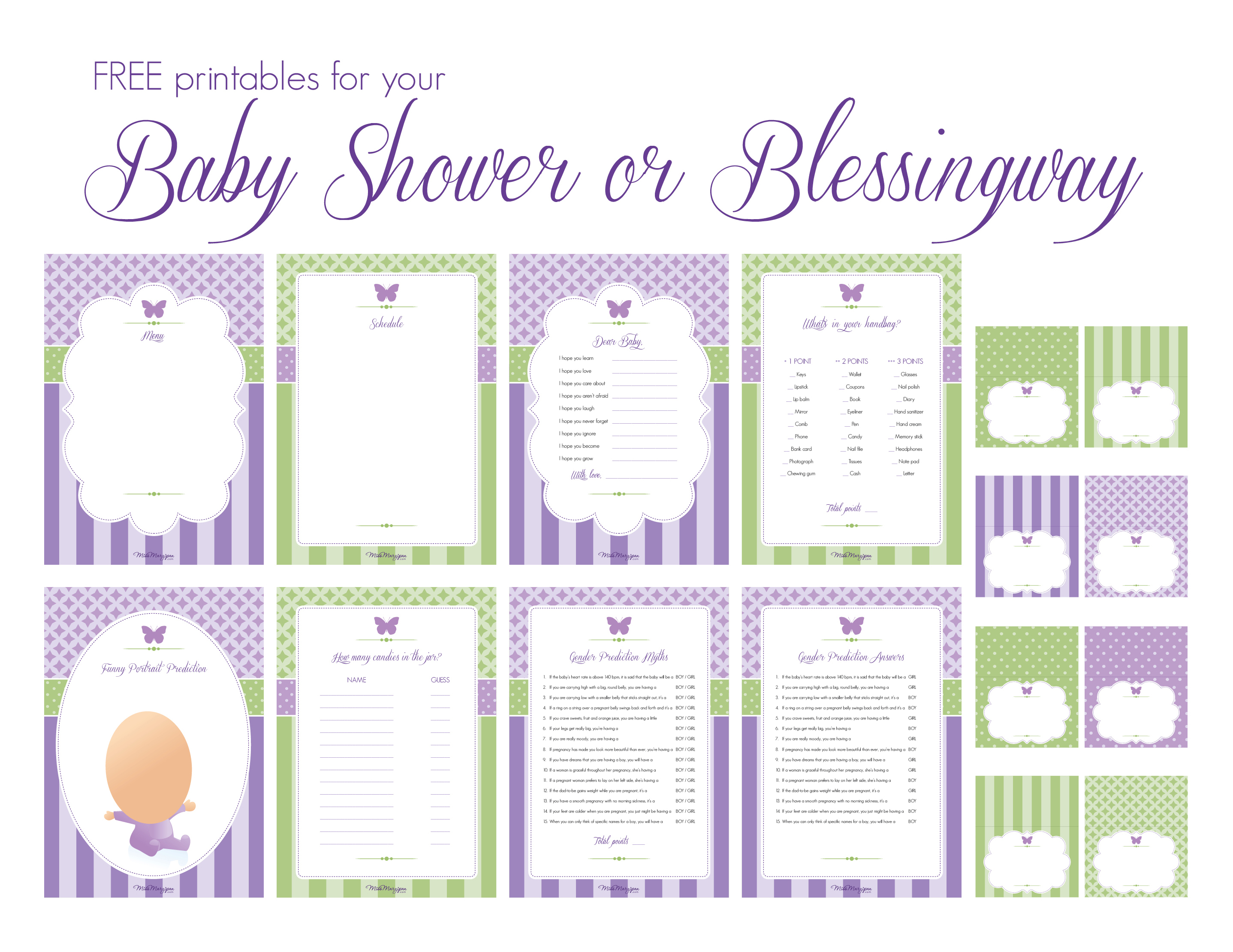 The Complete Blessingway Roundup (With Lots Of Free for Baby Prediction Template