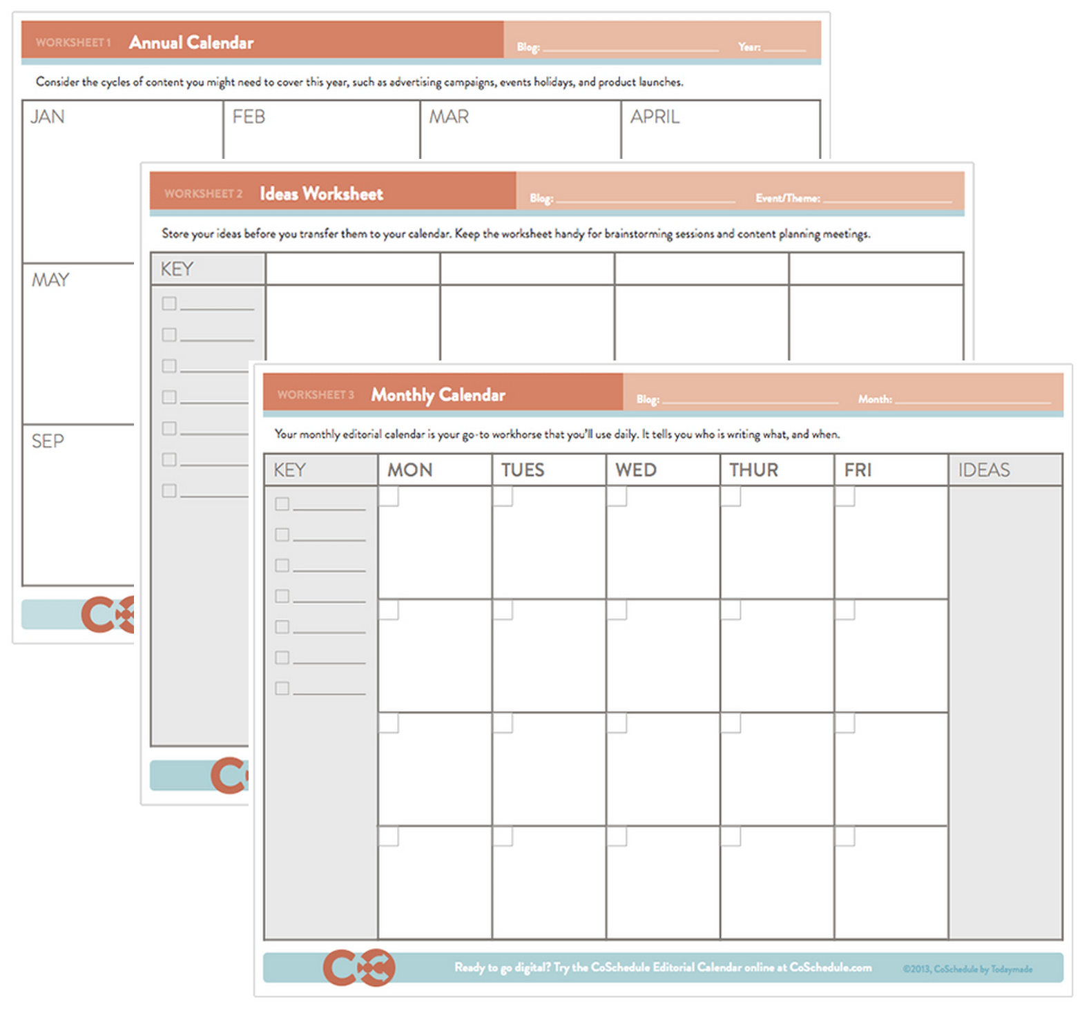 The Complete Guide To Choosing A Content Calendar inside Time And Action Calendar Template