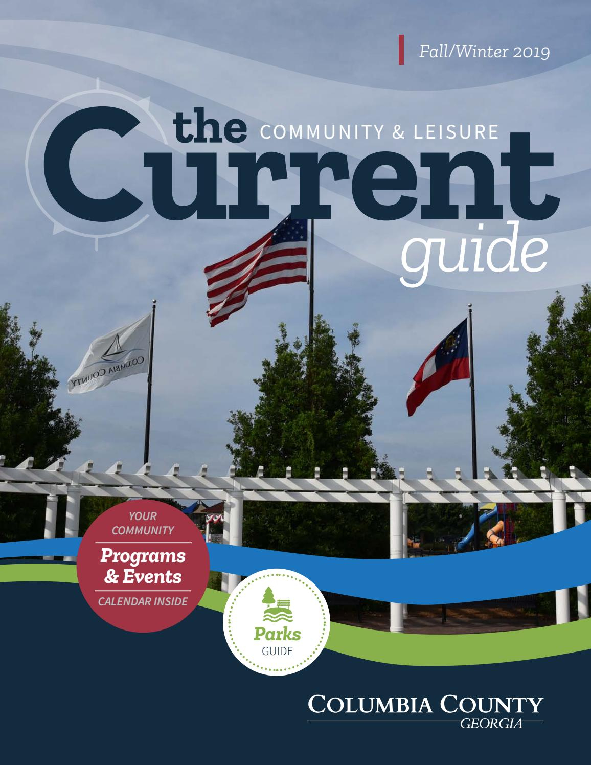 The Current  Fallwinter 2019 By Columbiacountyga4  Issuu regarding Columbia County Ga Calendar