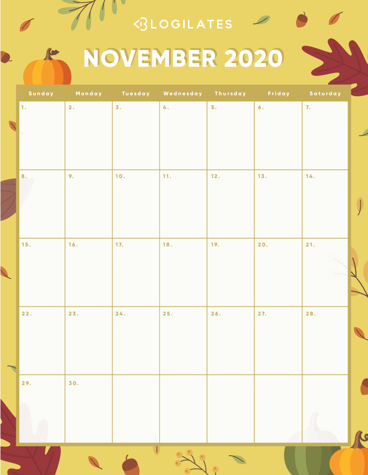 The Cutest 2020 Printable Calendars *free* – Blogilates pertaining to Blogilates December 2020 Calendar
