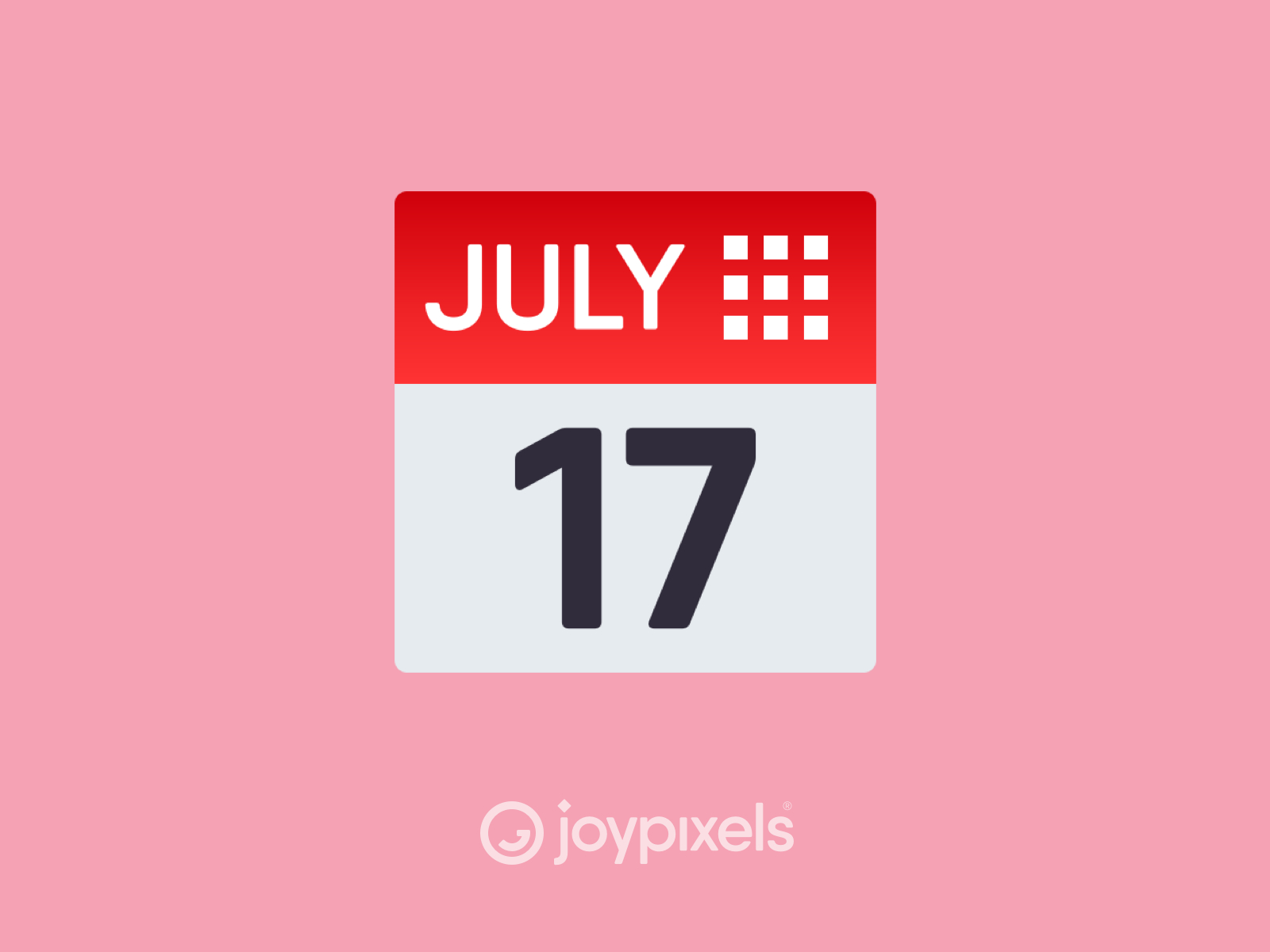 The Joypixels Calendar Emoji  Version 5.0 By Joypixels On for Calendar Emoji Png