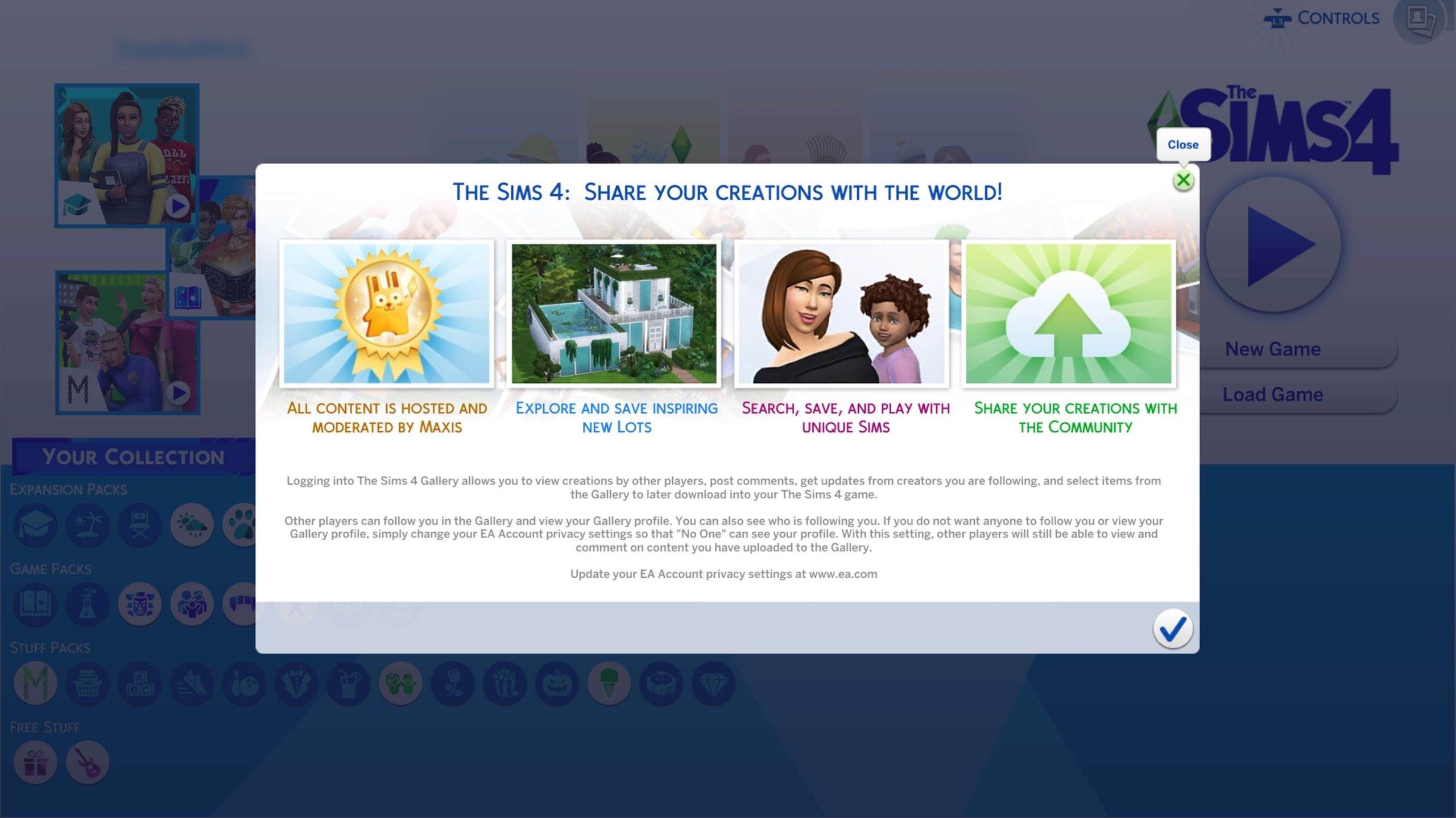 The Sims 4 Console: Welcome To The Gallery! throughout Sims 4 Icons 2020