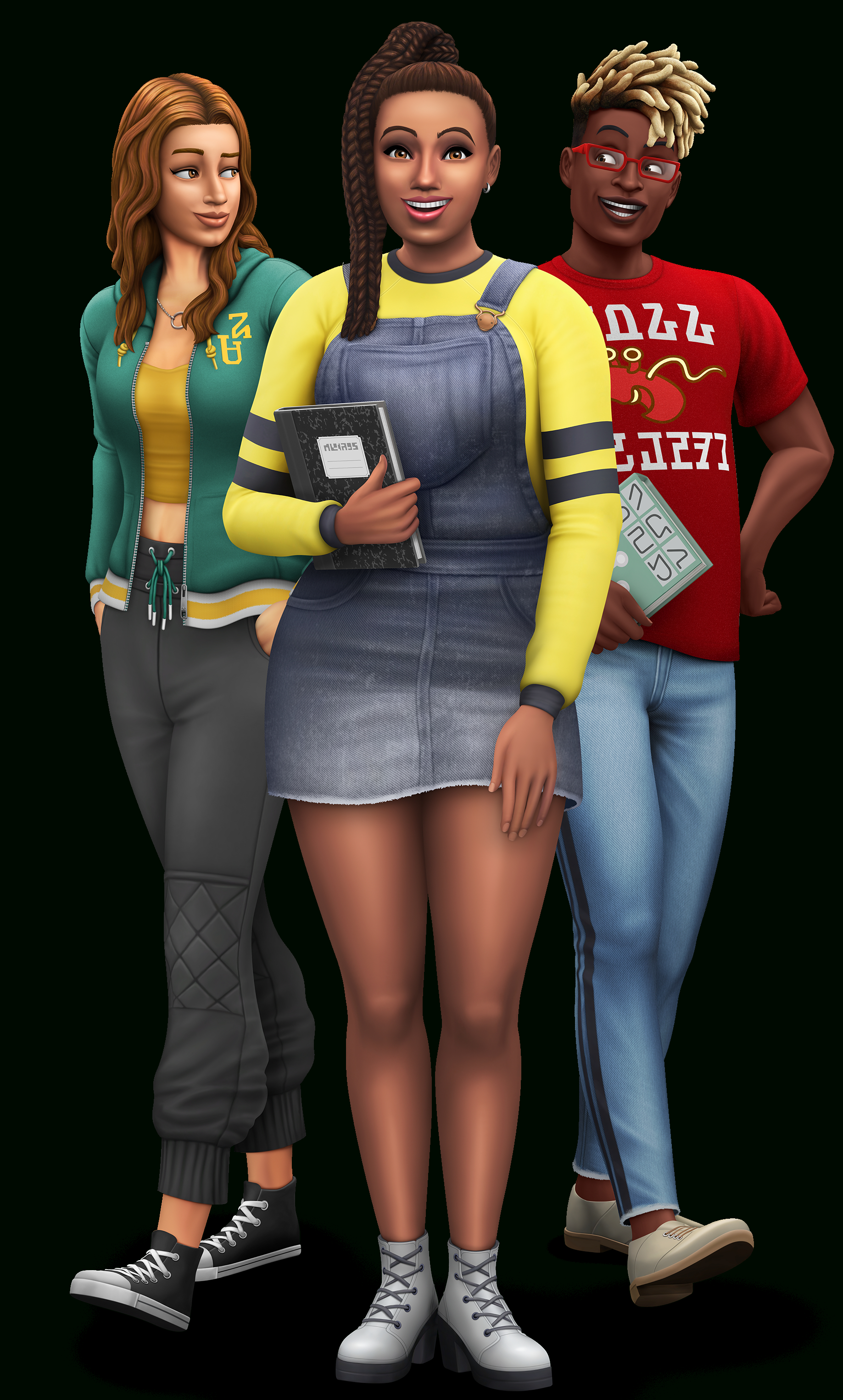 The Sims 4 Discover University: Official Logo, Box Art, Icon for Sims 4 Icons 2020