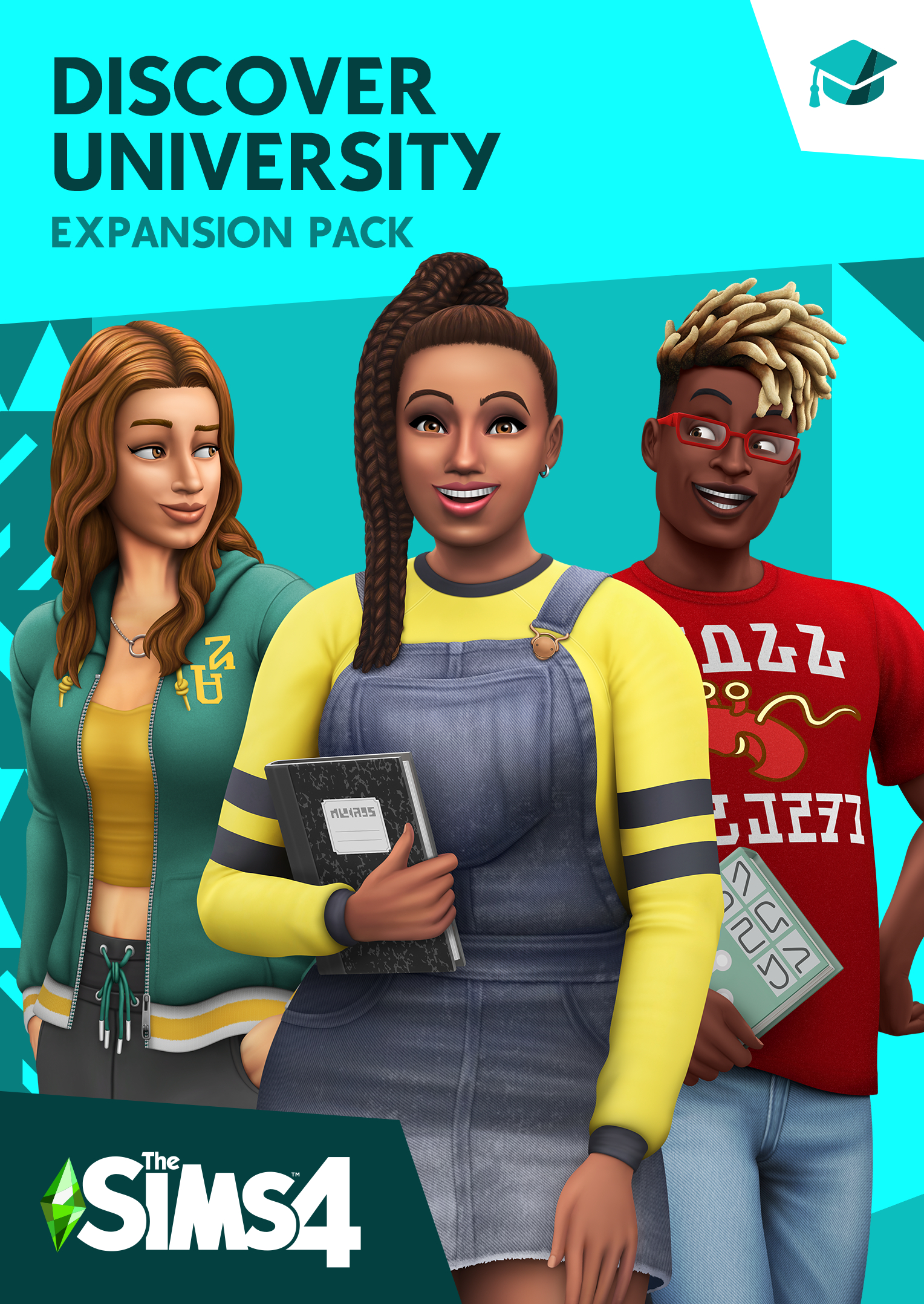 The Sims 4 Discover University: Official Logo, Box Art, Icon inside Sims 4 Icons 2020