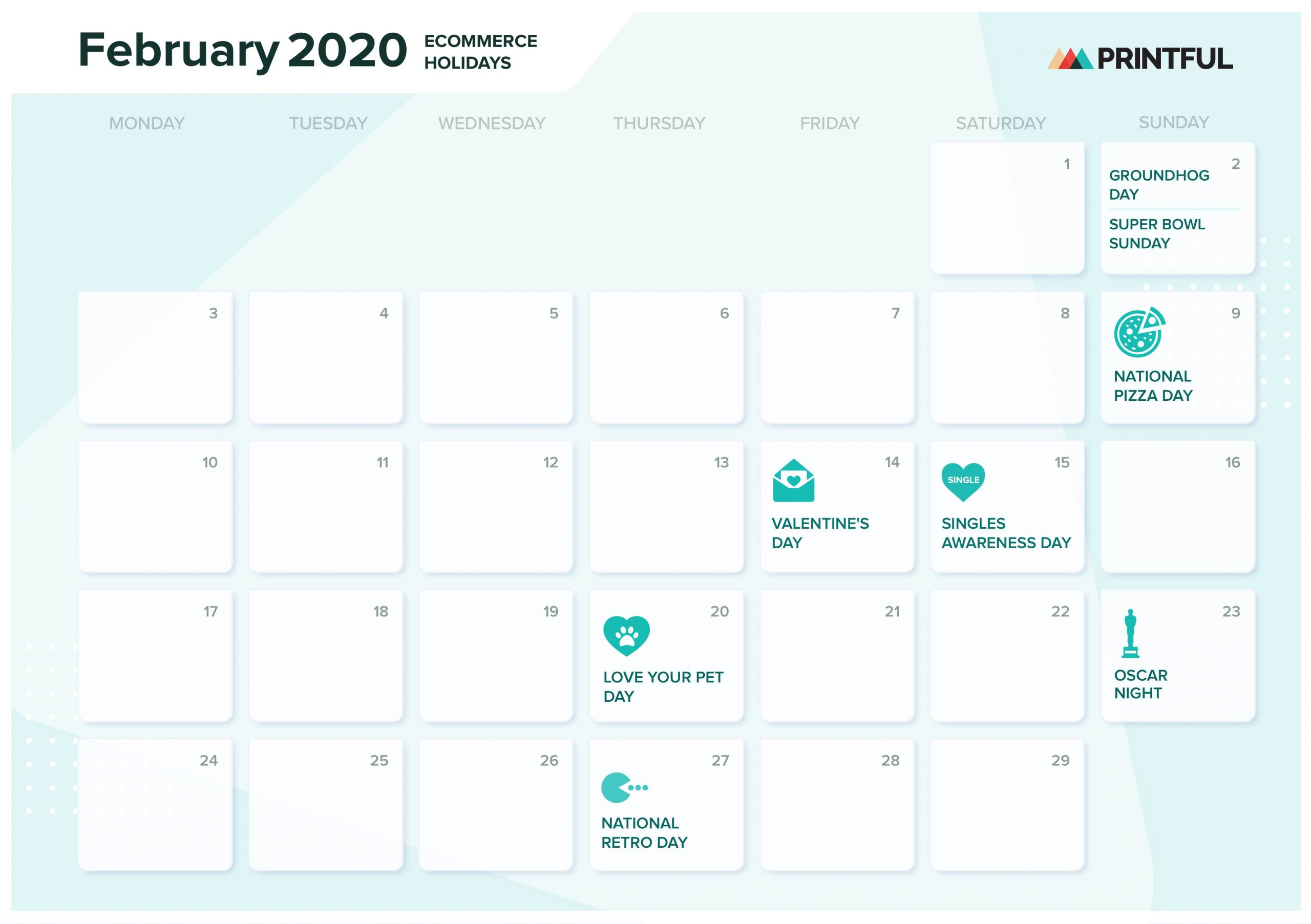 The Ultimate 2020 Ecommerce Holiday Marketing Calendar pertaining to 2020 Calendar With Holidays Hong Kong Excel