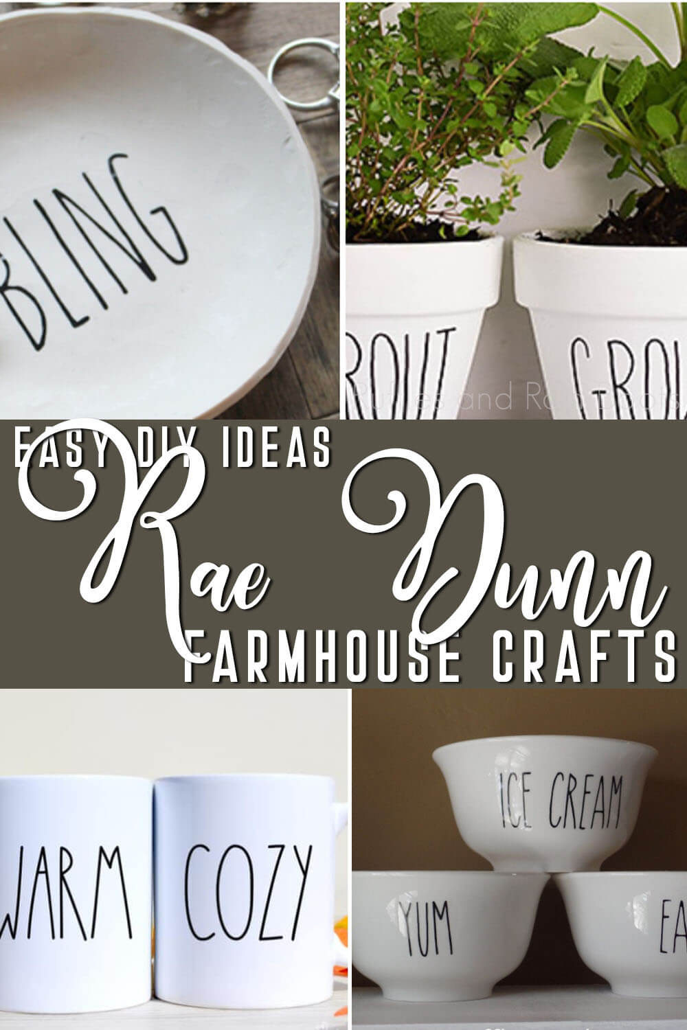 These Rae Dunn Farmhouse Crafts Are The Easiest Diy Ideas inside Rae Dunn Printable Calendar