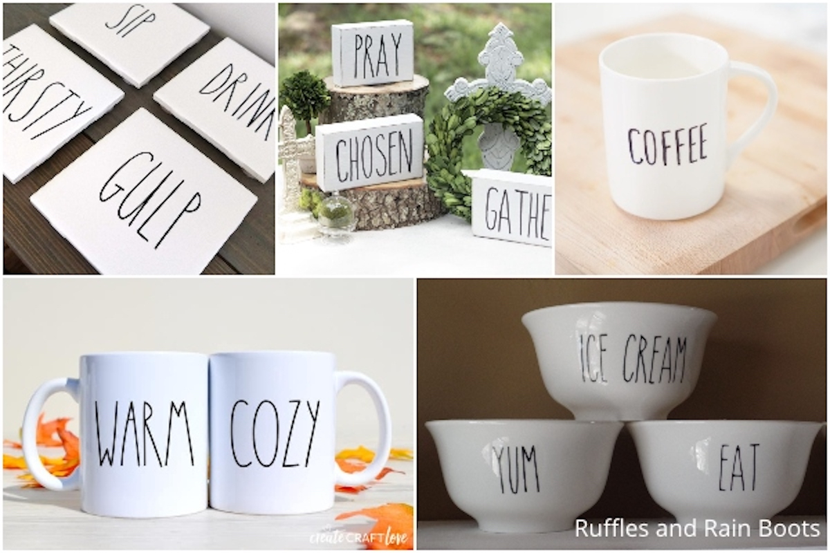 These Rae Dunn Farmhouse Crafts Are The Easiest Diy Ideas pertaining to Rae Dunn Printable Calendar