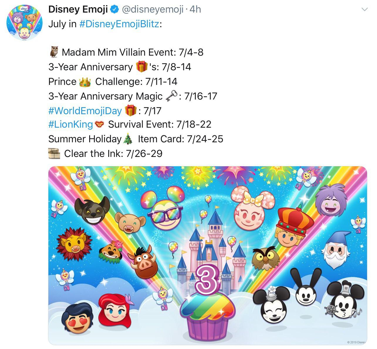 This Months Calendar : Disneyemojiblitz for Emoji Blitz Events Calendar