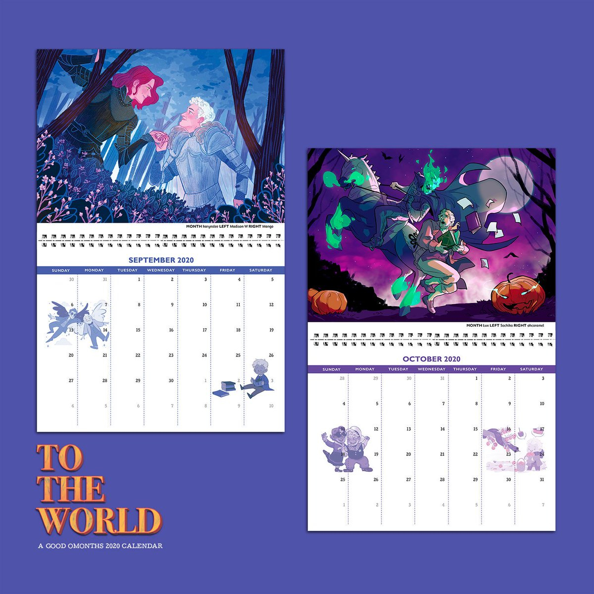 "To The World, A Good Omonths Calendar On Twitter: ""*whoops throughout Studyblr Calendar 2020"
