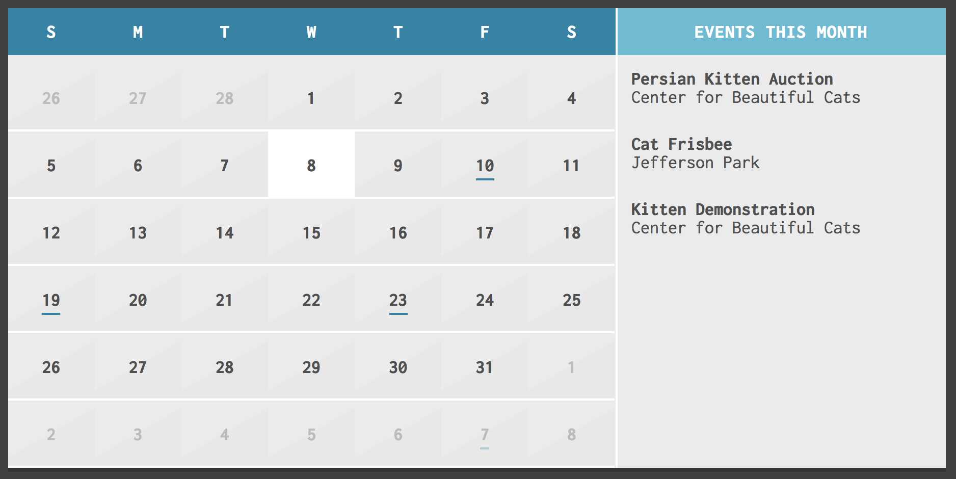 Top 10 Jquery Calendar And Datepicker Plugins pertaining to Pdf Form Calendar Date Picker