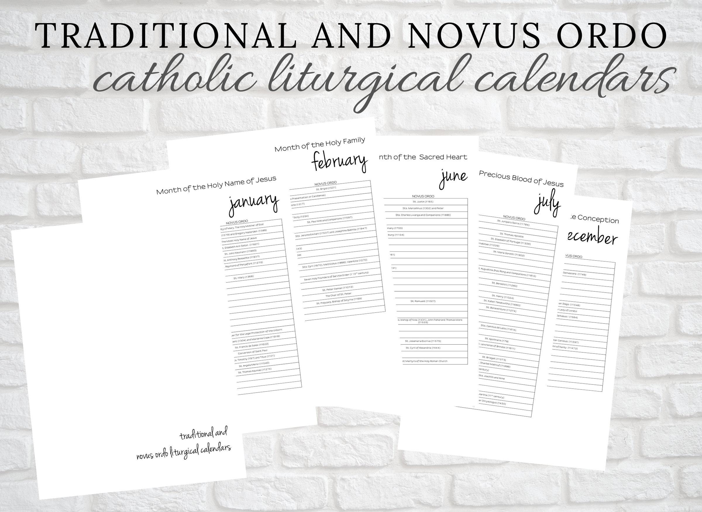 Traditional Latin Catholic And Novus Ordo Printable Calendar: Catholic  Liturgical Year  Catholic Homebinder Printable  Latin Mass pertaining to Catholic Extension Calendar