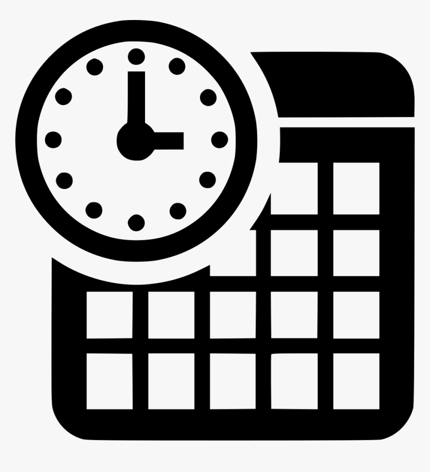 Transparent Calendar Icons Png  Date And Time Icon Png, Png with Calender Icon Png