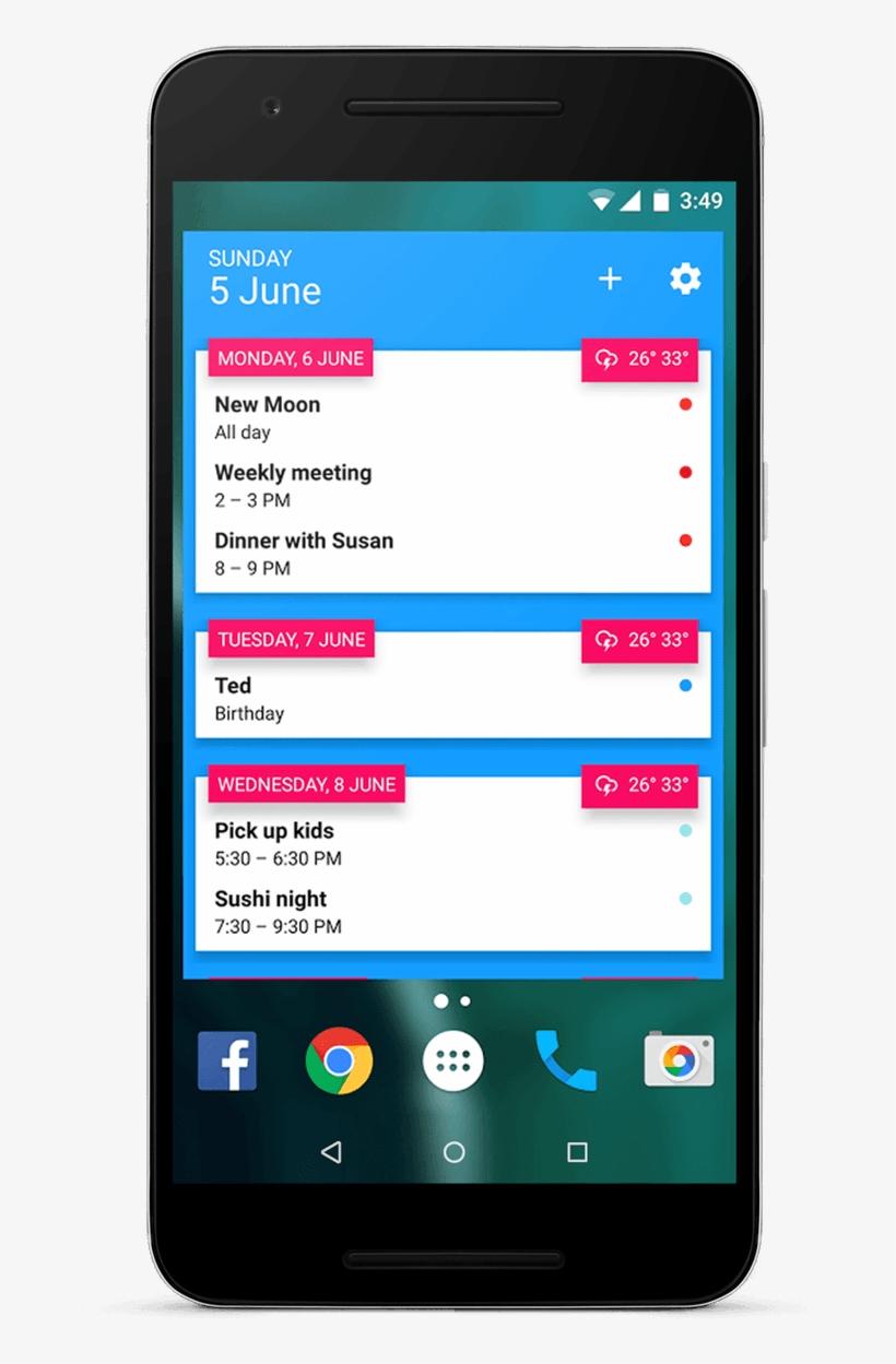 Transparent Calendar Widget Android  Smartphone  Free with Transparent Calendar Widget