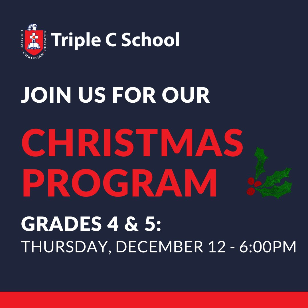 Triple C School (@triplecschool) | Twitter for Triple C School Calendar 2020