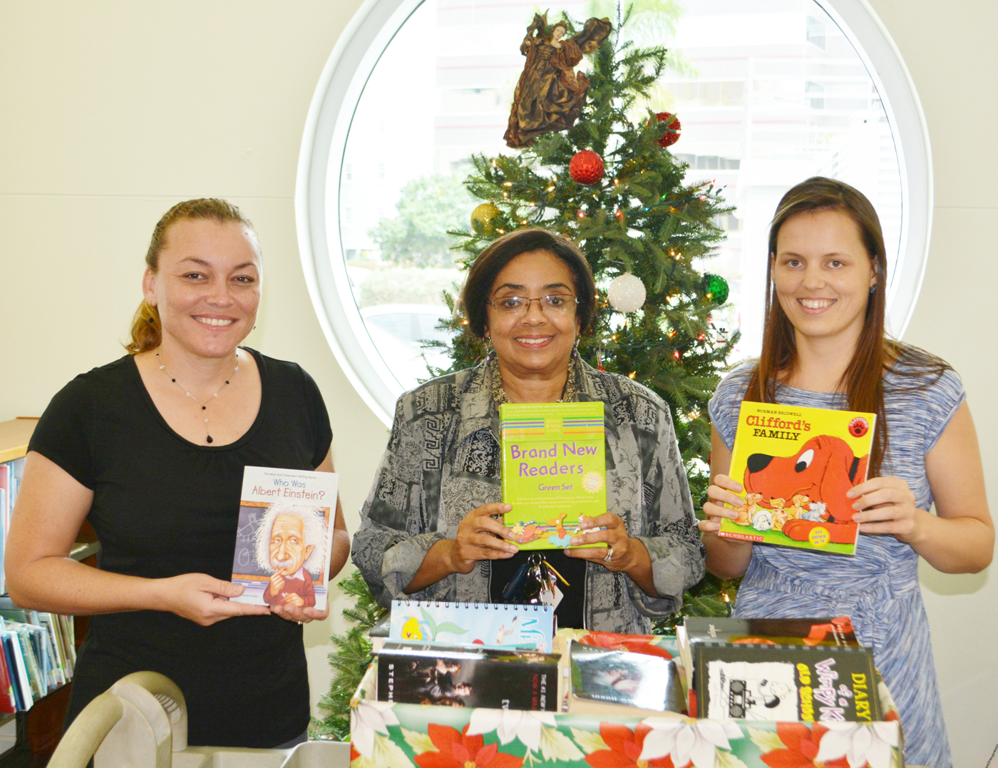 Triple C Students Give Gift Of Reading To The George Town intended for Triple C School Calendar