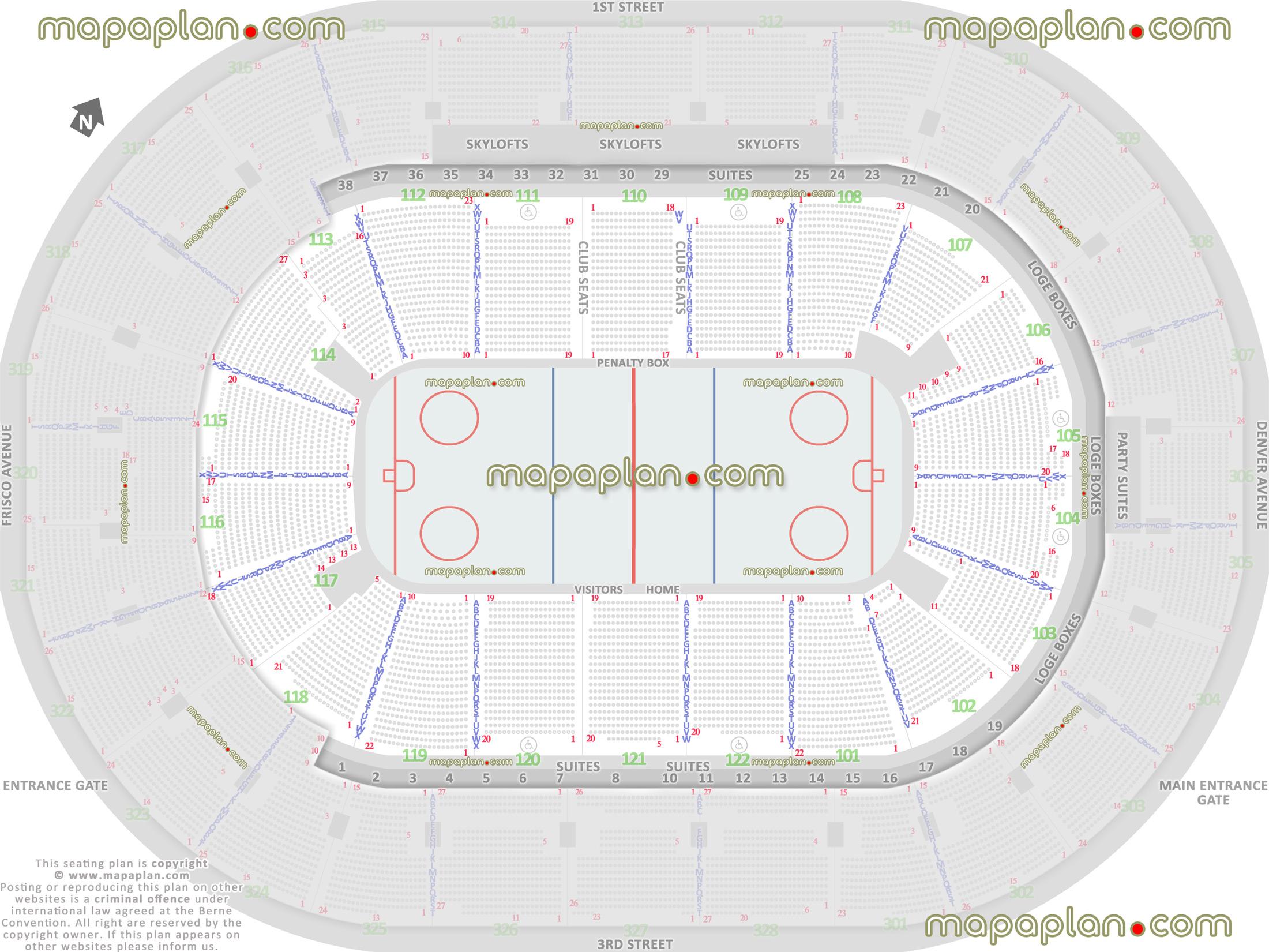 Tulsa Oilers Seating Chart  Bobi.karikaturize pertaining to Bok Center Seating Chart