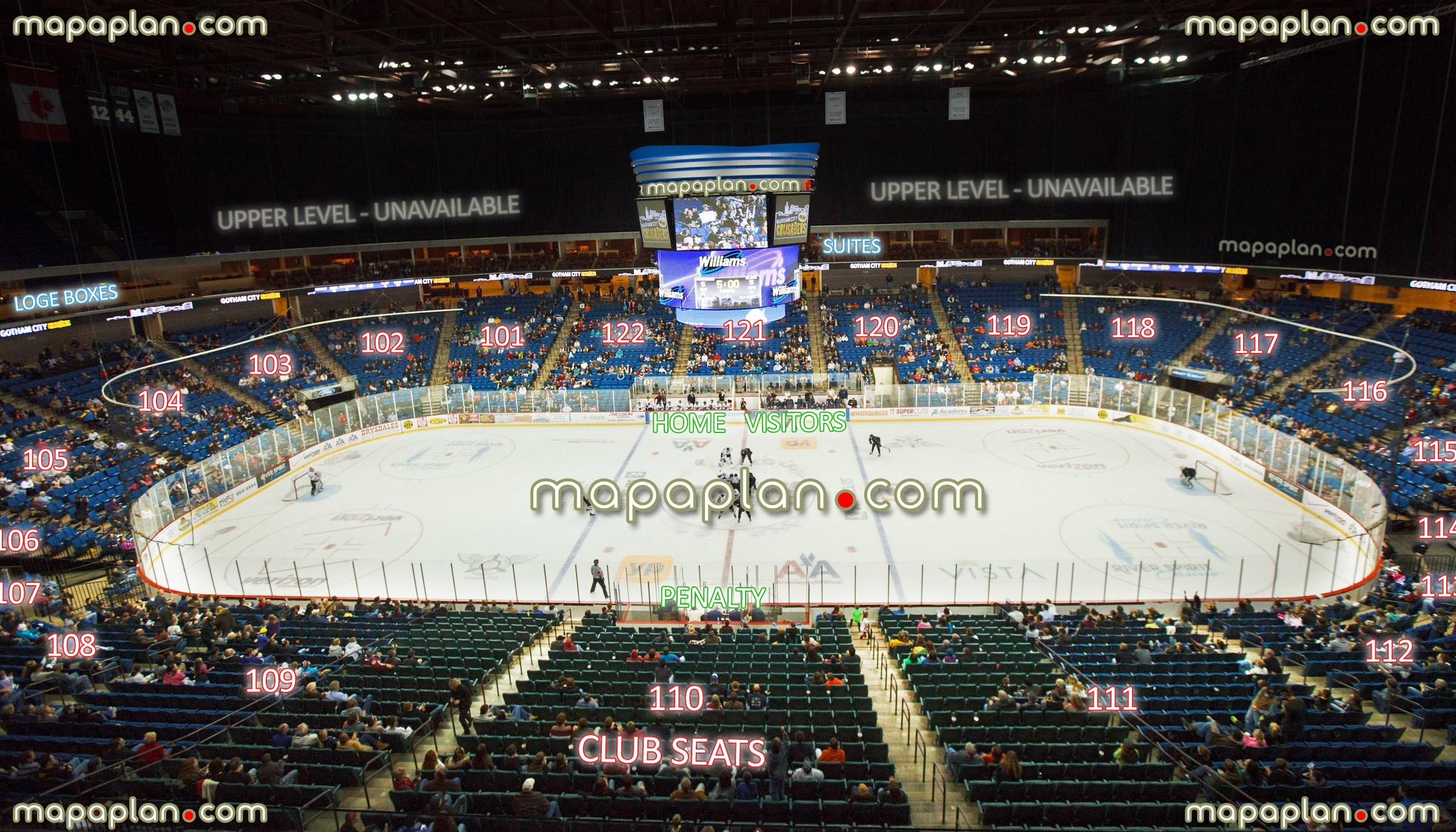 Tulsa Oilers Seating Chart  Bobi.karikaturize with regard to Bok Center Seating Chart