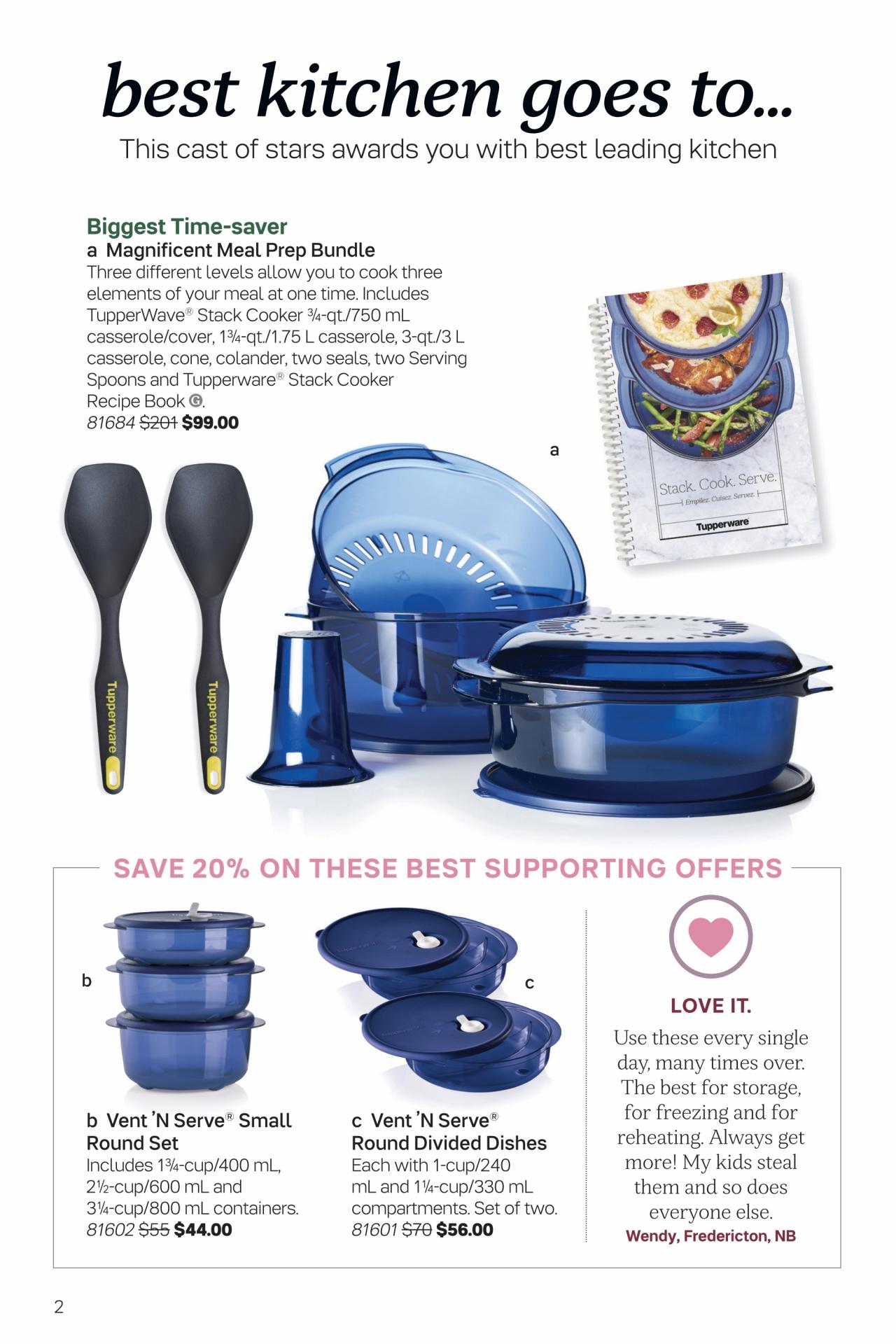 Tupperware Brochure – Valid Dec 14, 2019  Jan 10, 2020 for Tupperware Catalogue 2020