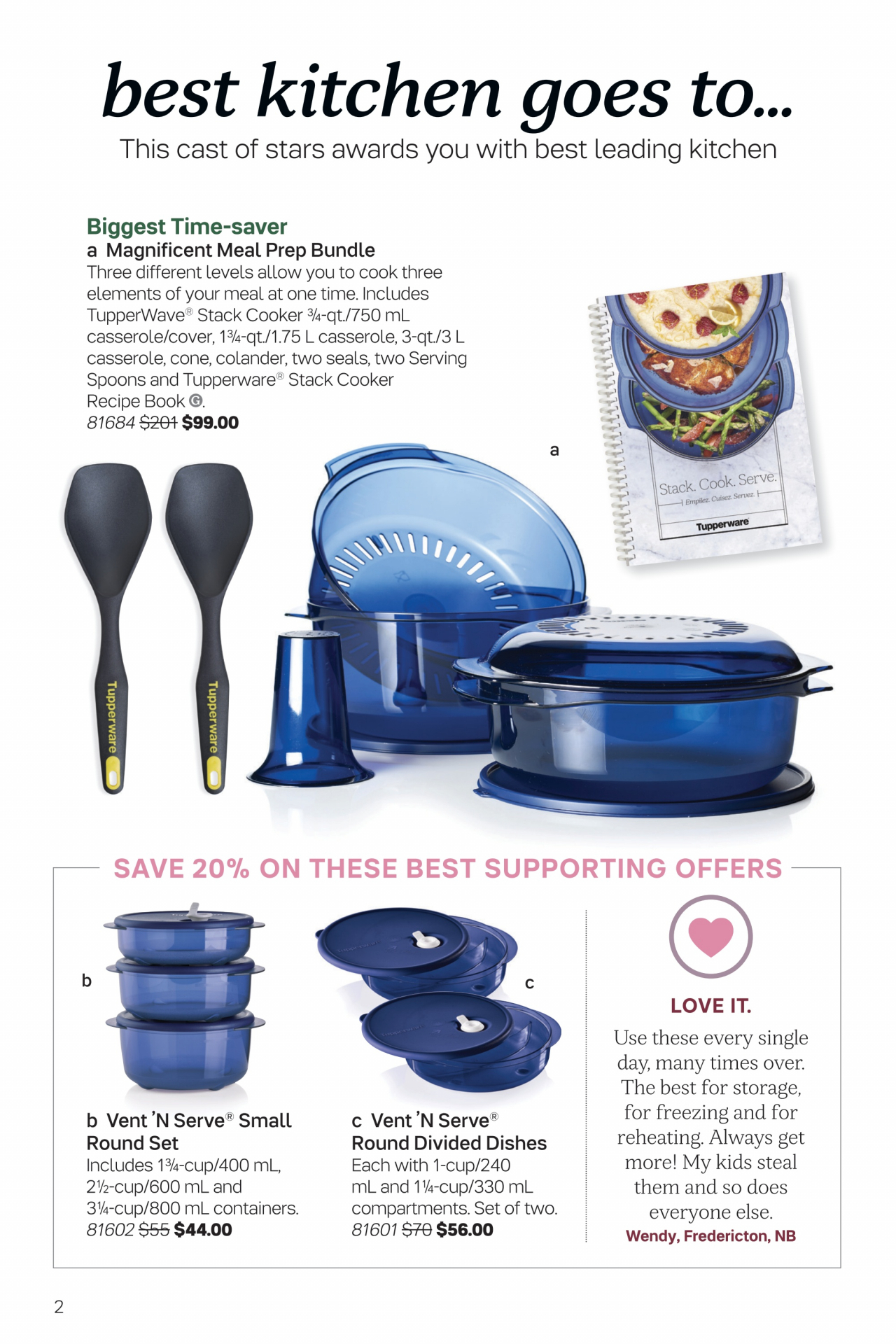Tupperware Brochure – Valid Dec 14, 2019  Jan 10, 2020 in Catalog Tupperware January 2020