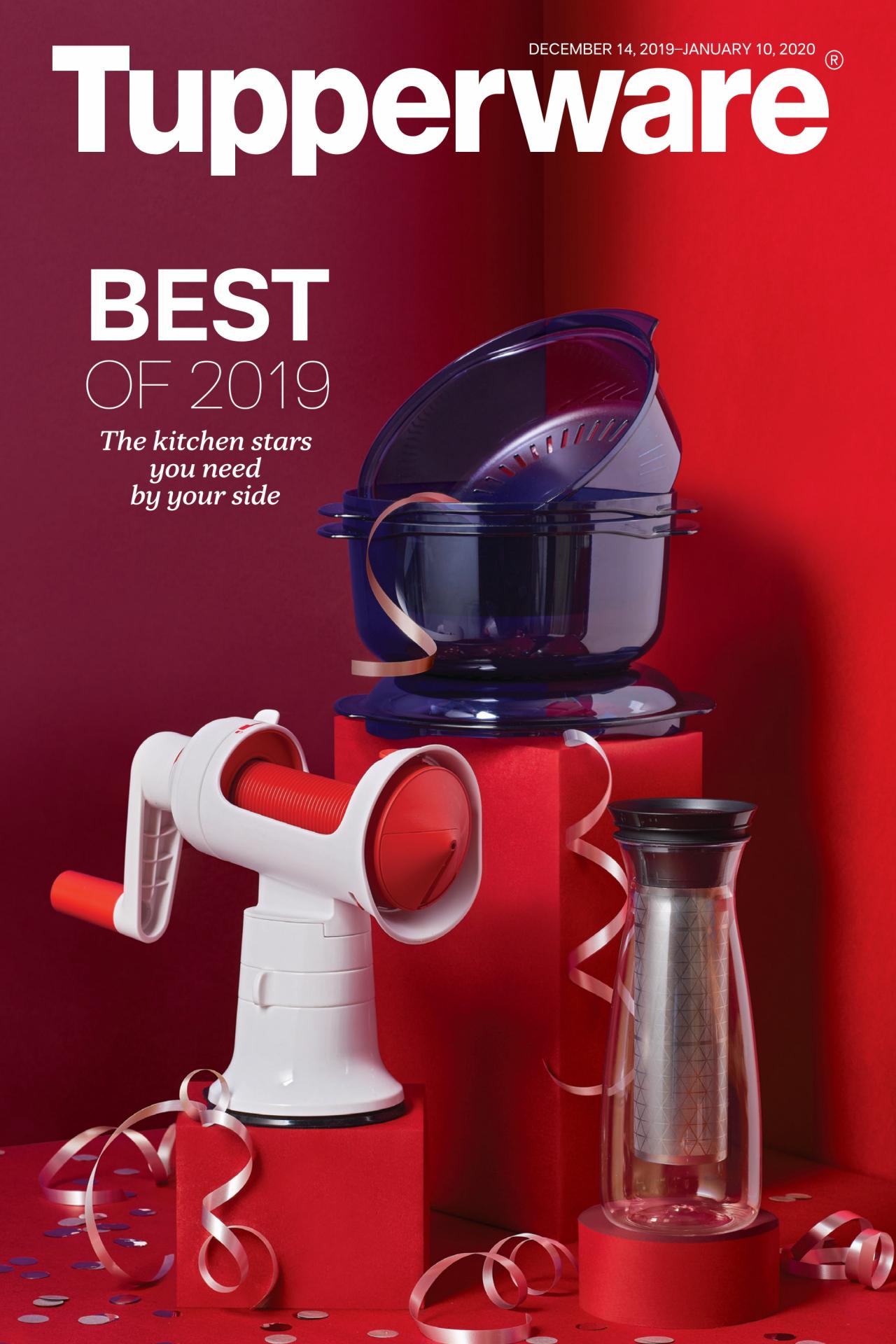 Tupperware Brochure – Valid Dec 14, 2019  Jan 10, 2020 within Tupperware Januar 2020