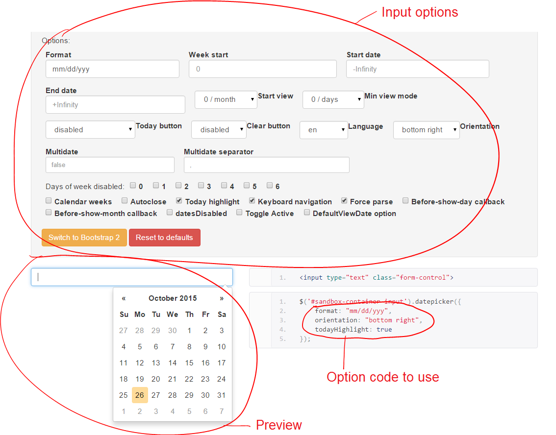 Tutorial: Add A Date Picker To A Bootstrap Form | Formden for Bootstrap Calendar W3Schools