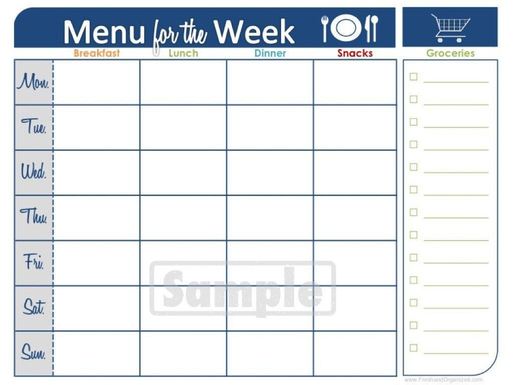 Two Week Printable Calendar | Meal Planner Printable, Weekly inside Two Week Printable Calendar
