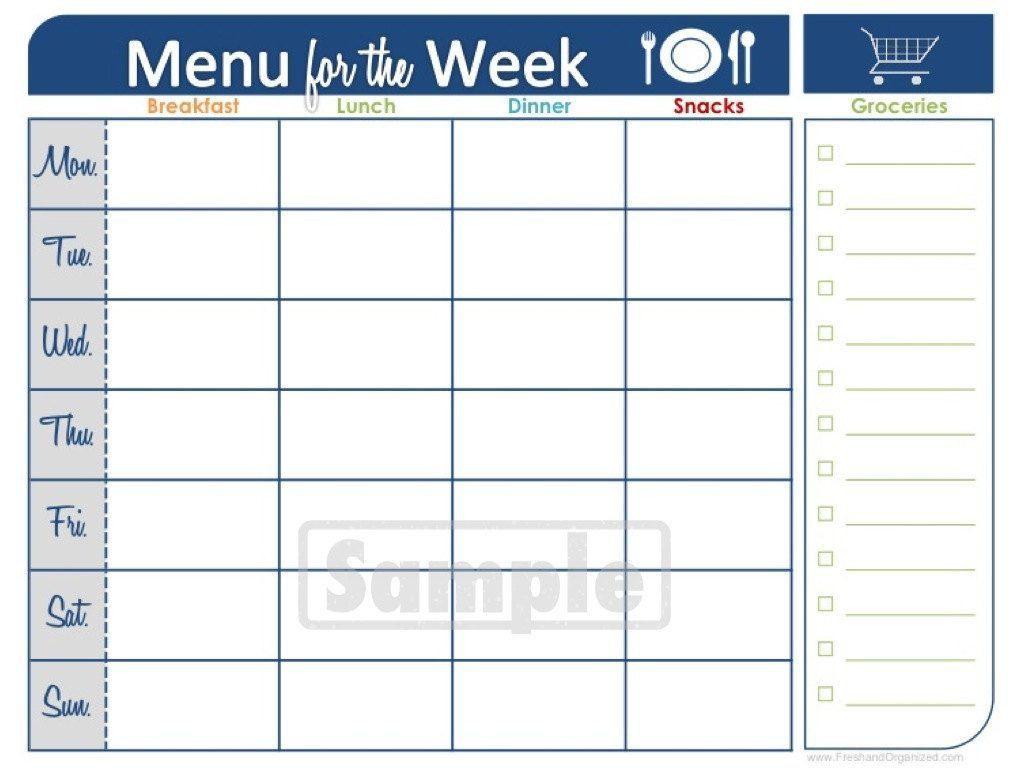 Two Week Printable Calendar | Meal Planner Printable, Weekly pertaining to Two Week Blank Calendar