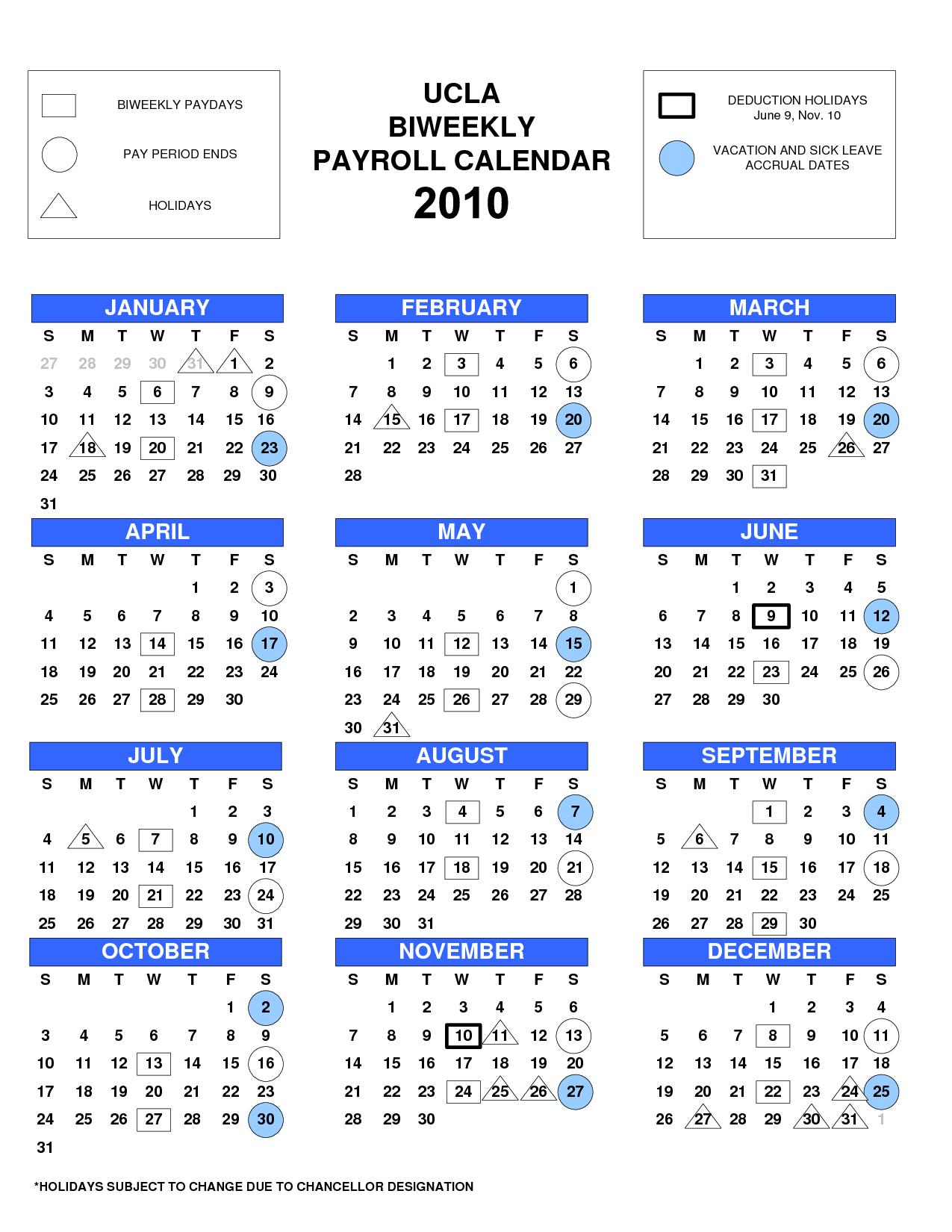 Uc Payroll Calendar 2018 | Payroll Calendars regarding Uc Berkeley Biweekly Pay Calendar 2020