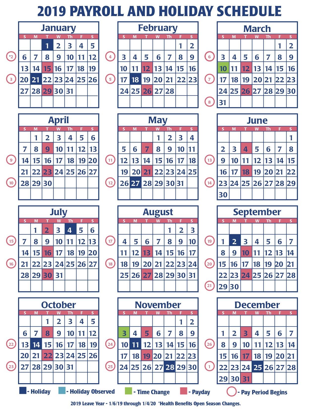 Ucla Health System Biweekly Payroll Calendar 2019 in Uc Berkeley Payroll Calendar 2020