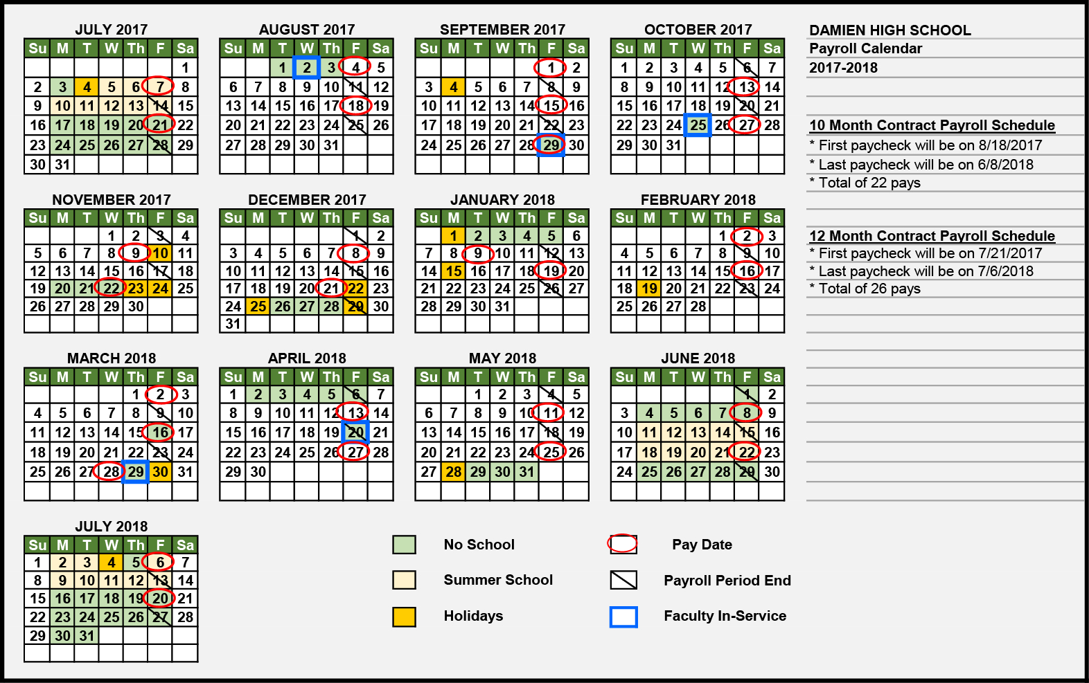 Ucla Health System Biweekly Payroll Calendar 2019 throughout Uc Berkeley Payroll Calendar 2020