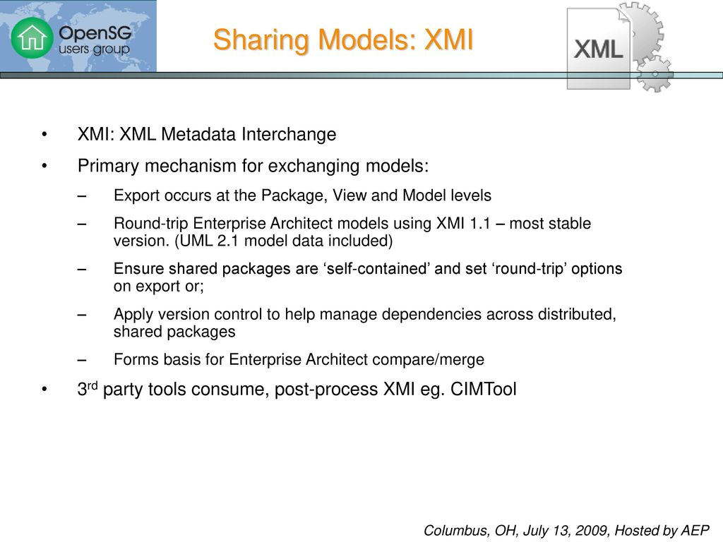 Uml Modeling Using Enterprise Architect  Ppt Download regarding Sharing Metadata Xml