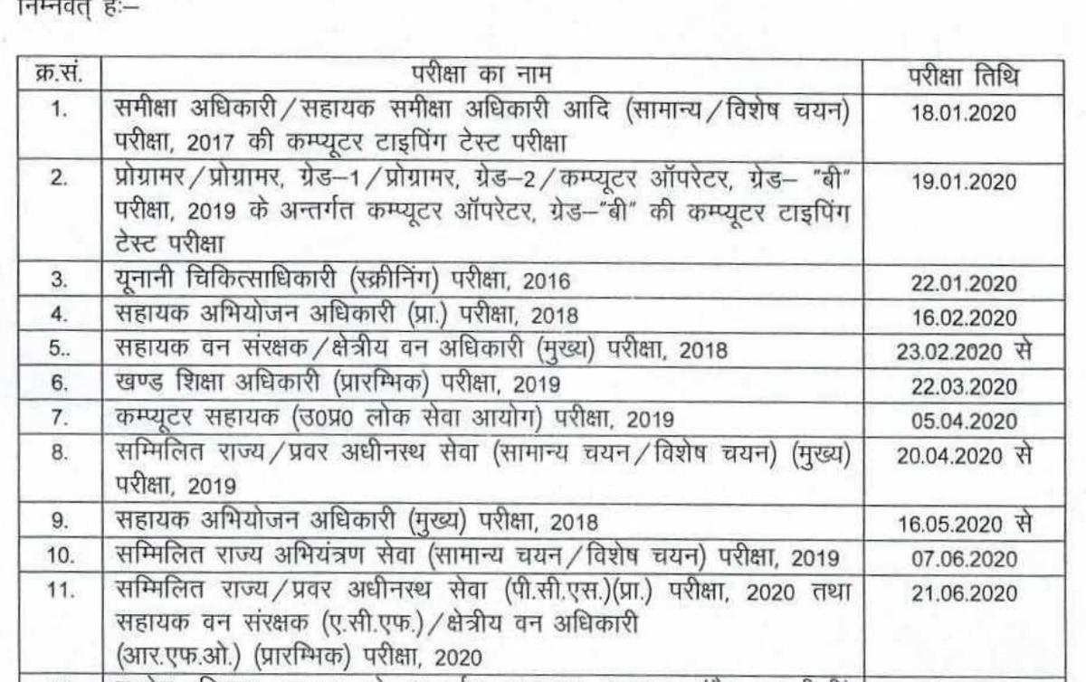 Uppsc Calendar 2020 Released, Check Important Exam Dates intended for Bihar Govt Official Calendar 2020