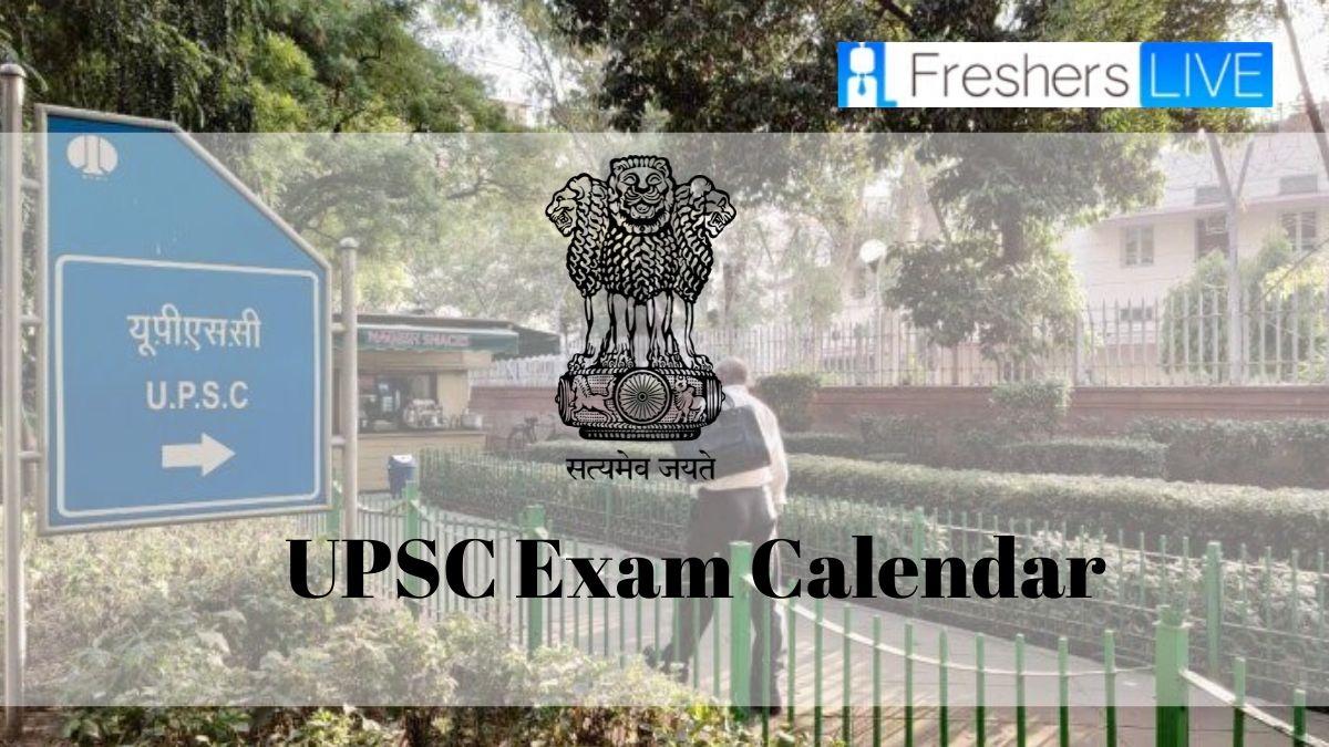 Upsc Exam Calendar 2020 Out To Download. Check The Exam with regard to Bihar Govt 2020 Calendar