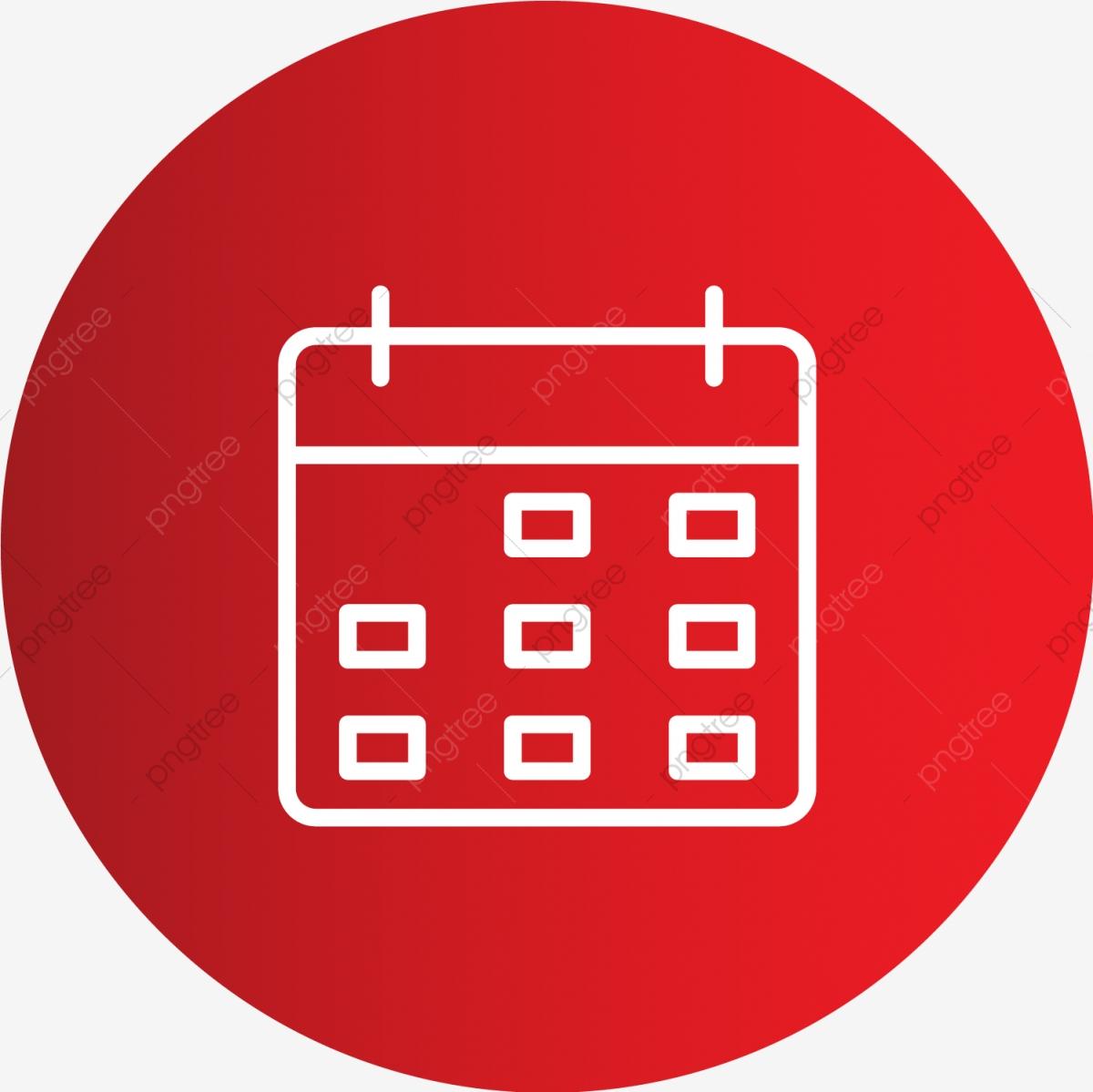 Vector Calendar Icon, Appointment, Calendar, Date Icon Png regarding Red Calendar Icon Png