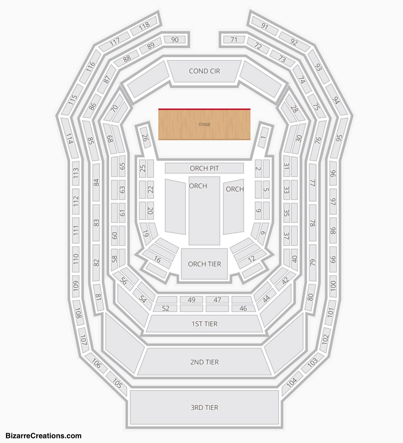 Verizon Hall At The Kimmel Center Seating Charts & Views with regard to Verizon Center Seating Chart
