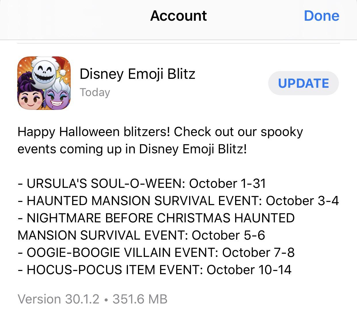 Version 30.1.2 Has Dropped For Ios : Disneyemojiblitz within Emoji Blitz Event Calendar
