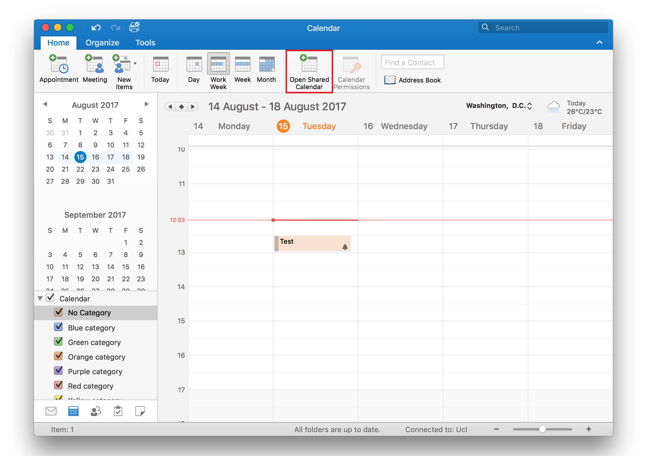 View Another Person's Calendar In Outlook 2016 For Mac intended for View Calendar In Outlook 2016