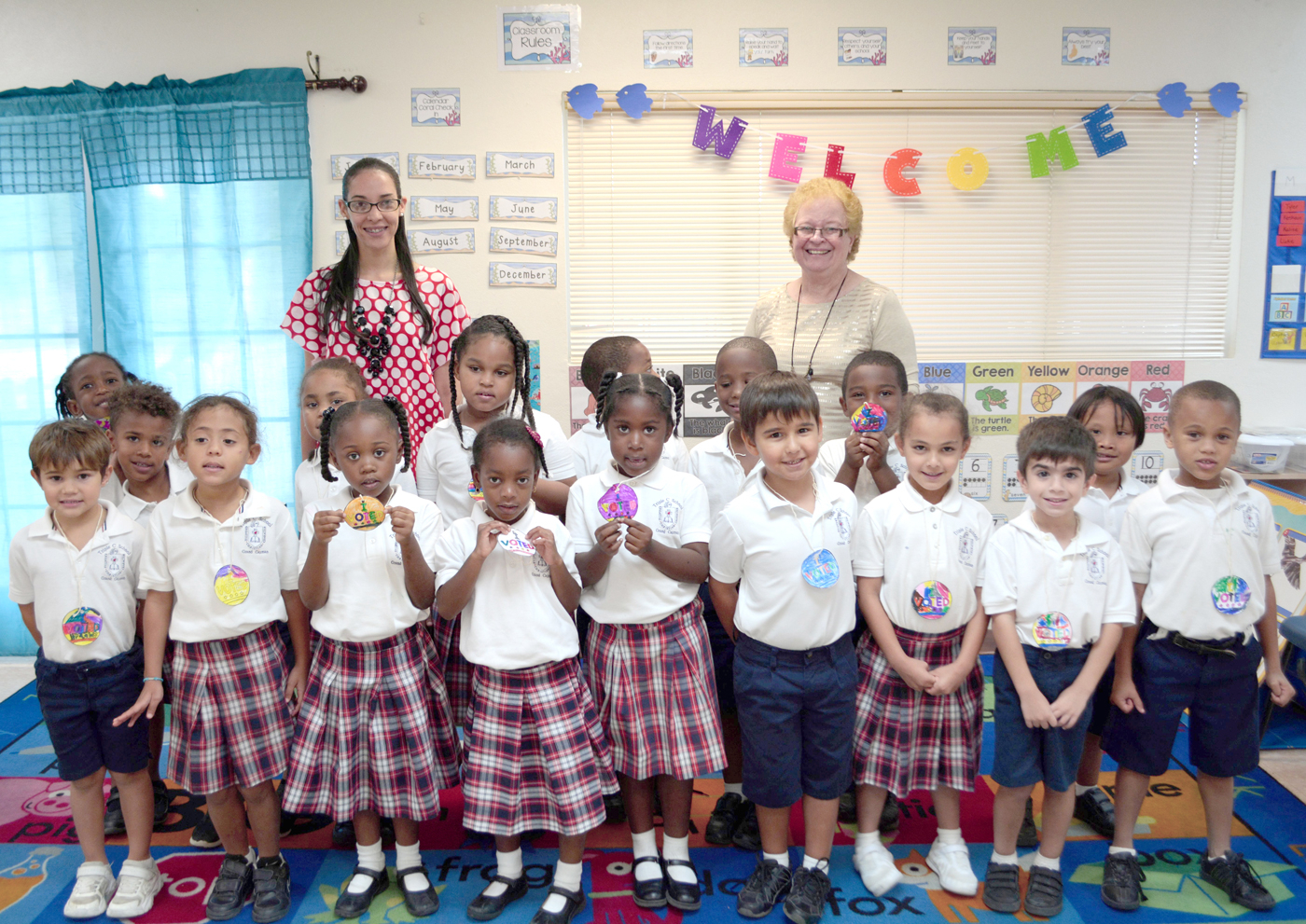Voting In Spotlight At Triple C School | Cayman Compass inside Triple C School