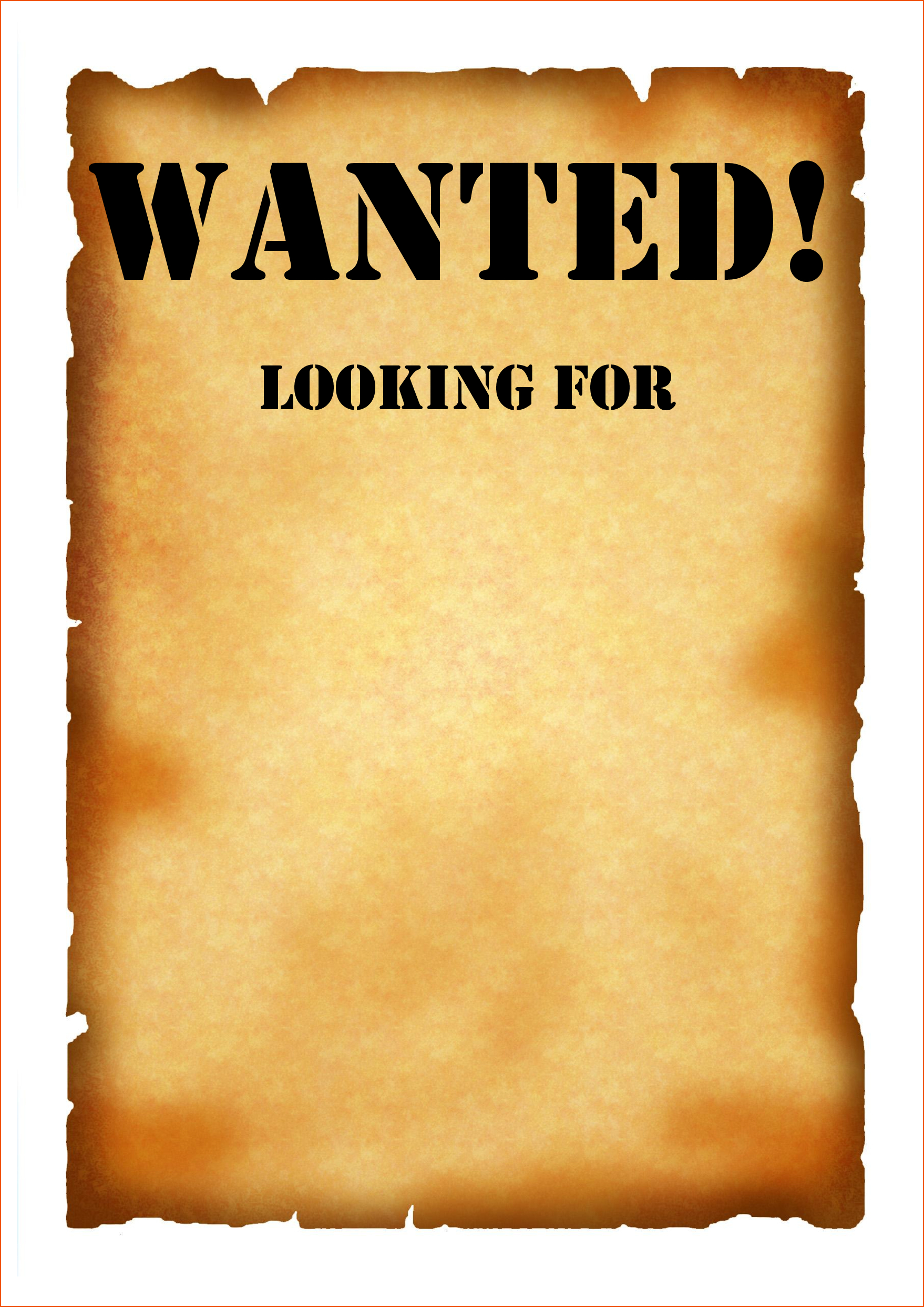 Wanted Poster Template 50 Printable Templates Free Pdf Psd regarding Wanted Poster Template Free Printable