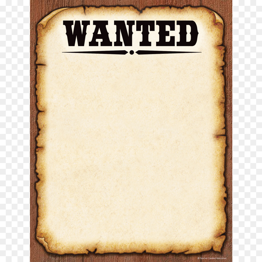 Wanted Poster Template Png Download  900*900  Free with Wanted Poster Template Free Printable