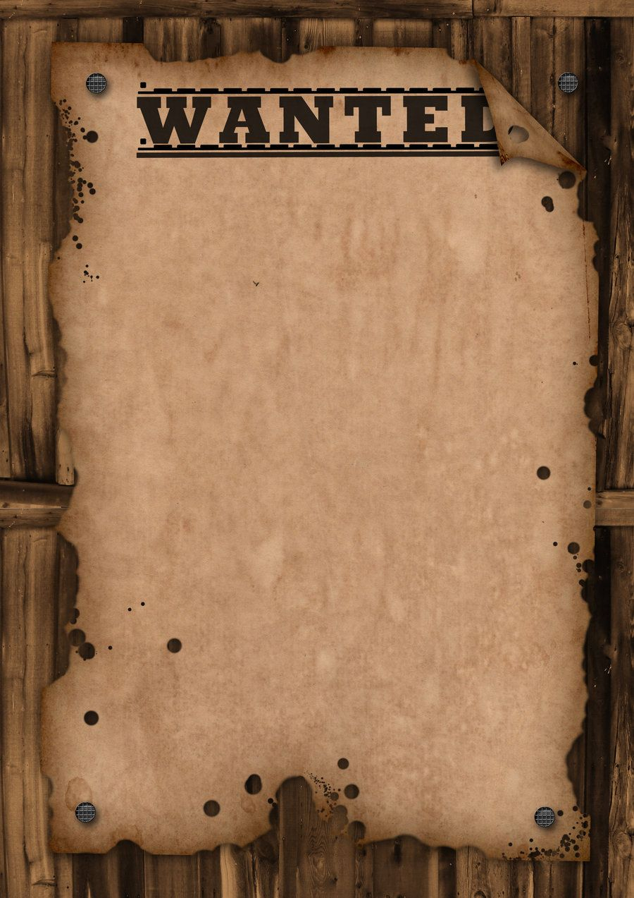 Wanted Poster Template | Wanted  Template By Maxemilliam within Wanted Poster Template Free Printable